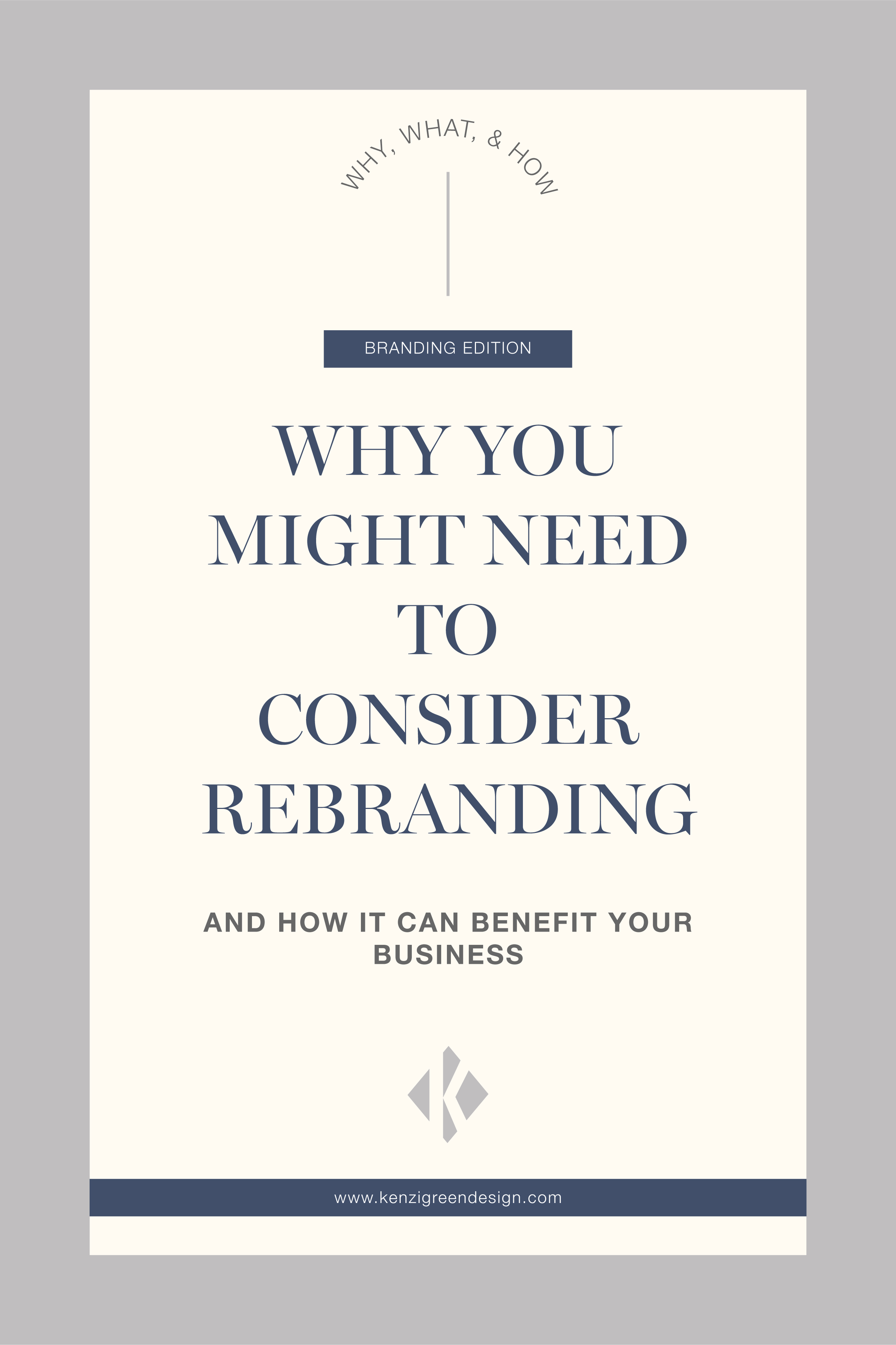 Why You Might Need To Consider Rebranding