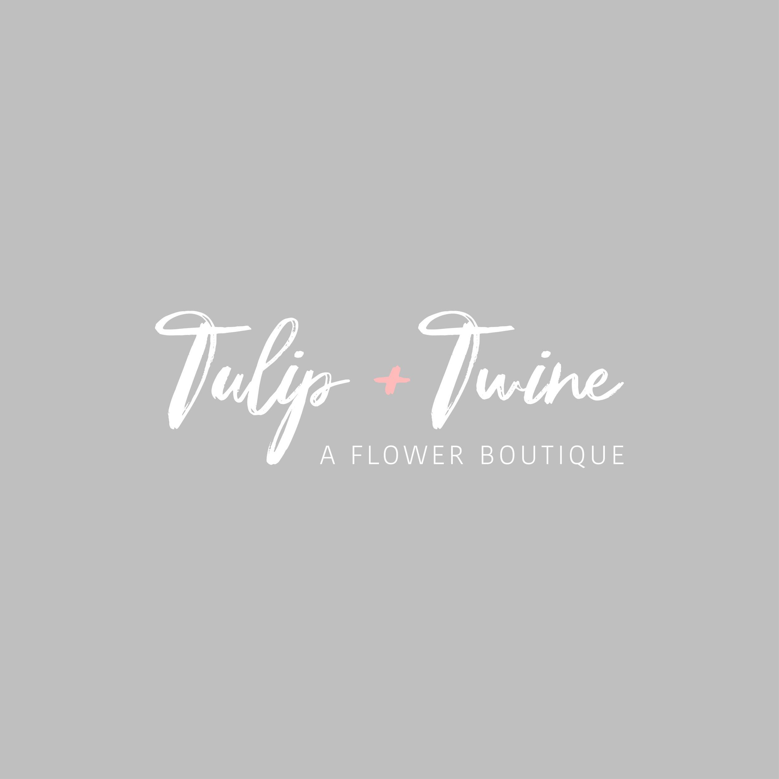 Tulip + Twine Logo & branding
