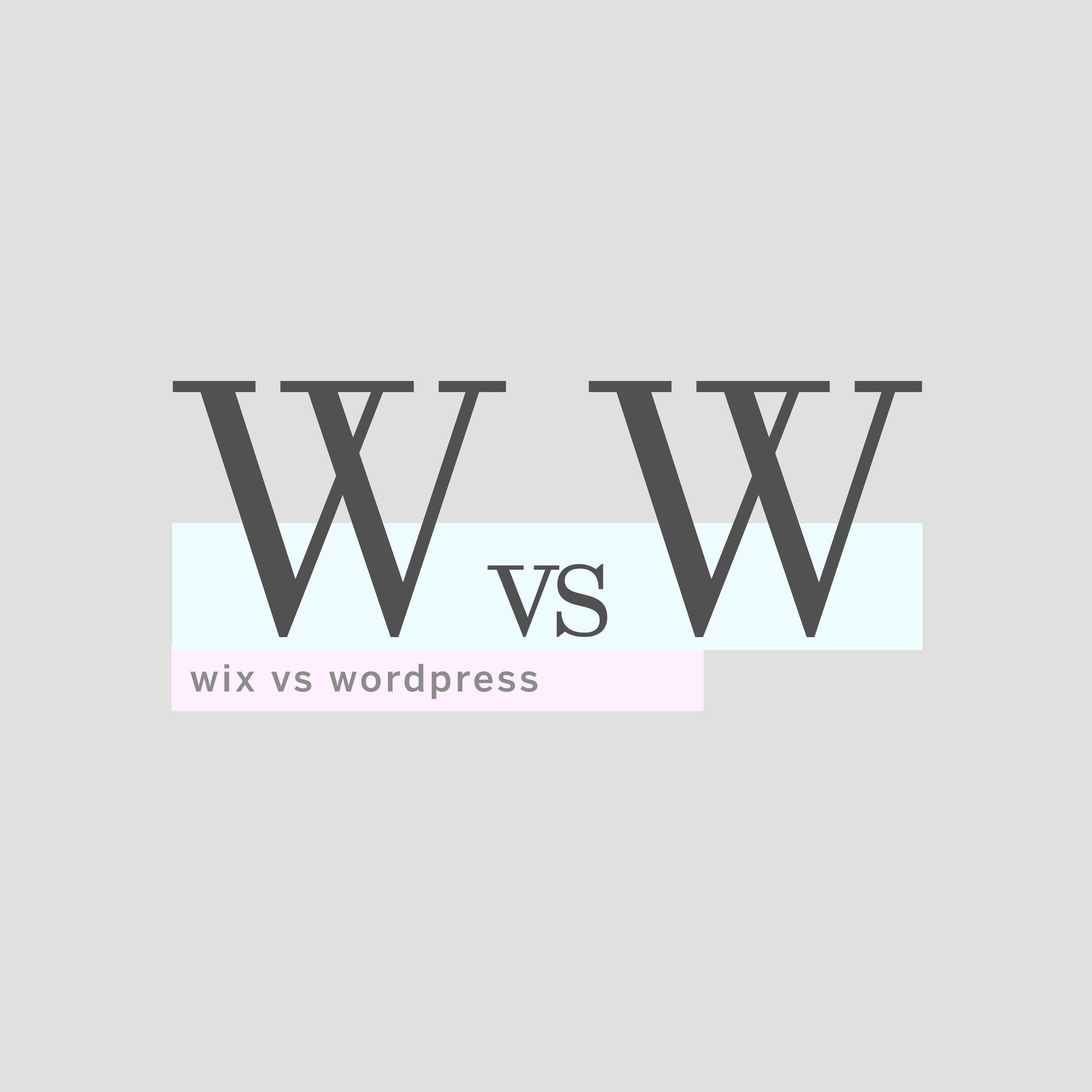 Wix or WordPress ? #wixorwordpress #webdesign #wordpress #wix #websitedesign