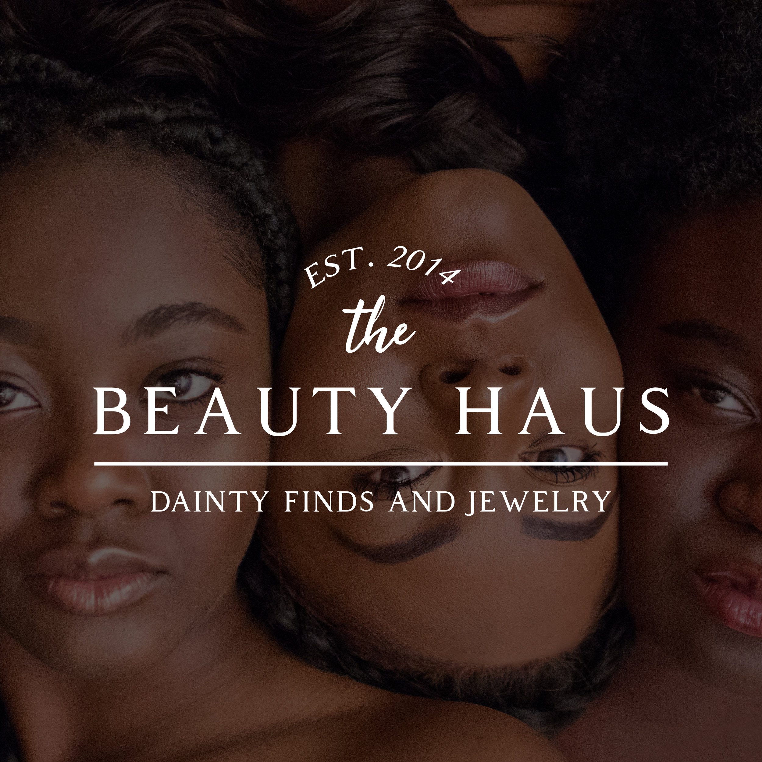 The BEAUTY HAUS Logo Design by Kenzi Green Design #logodesign #logo #beautylogo
