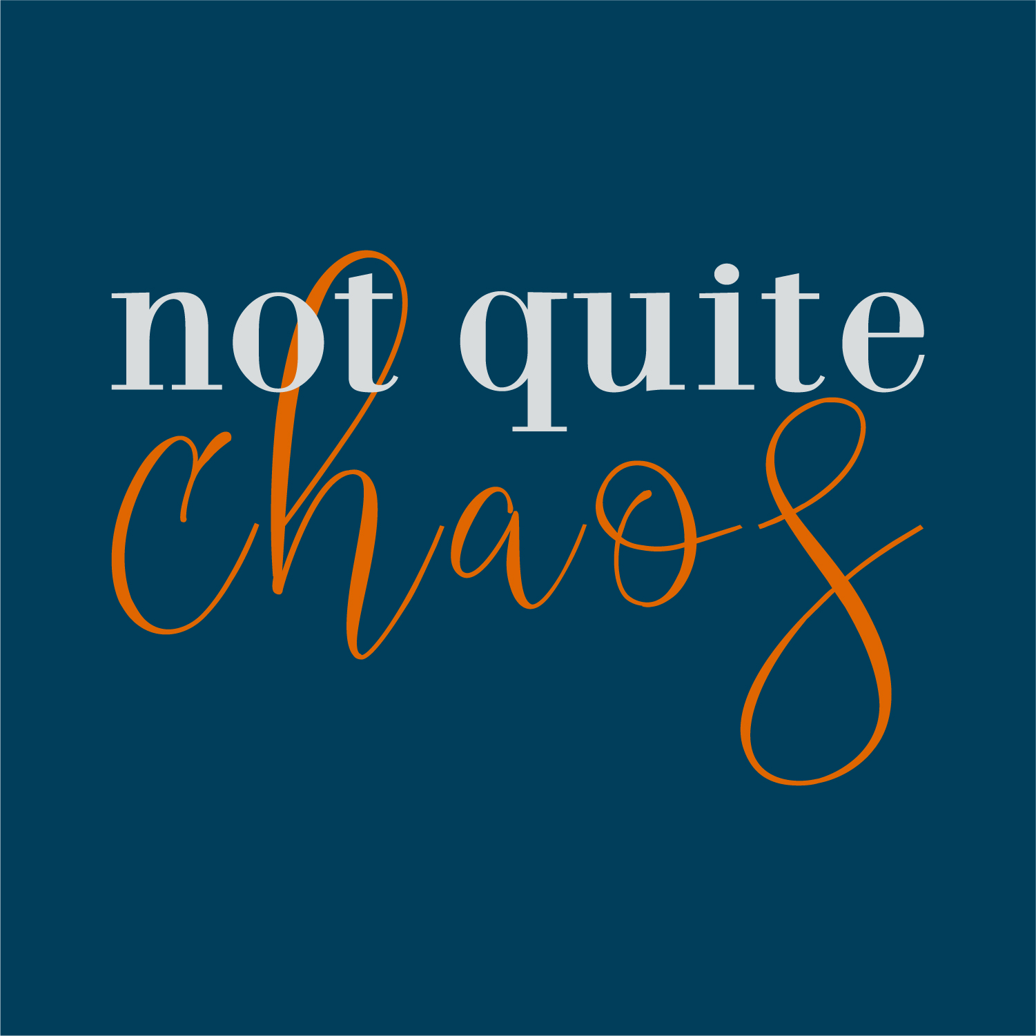 Not Quite CHAOS Official Logo
