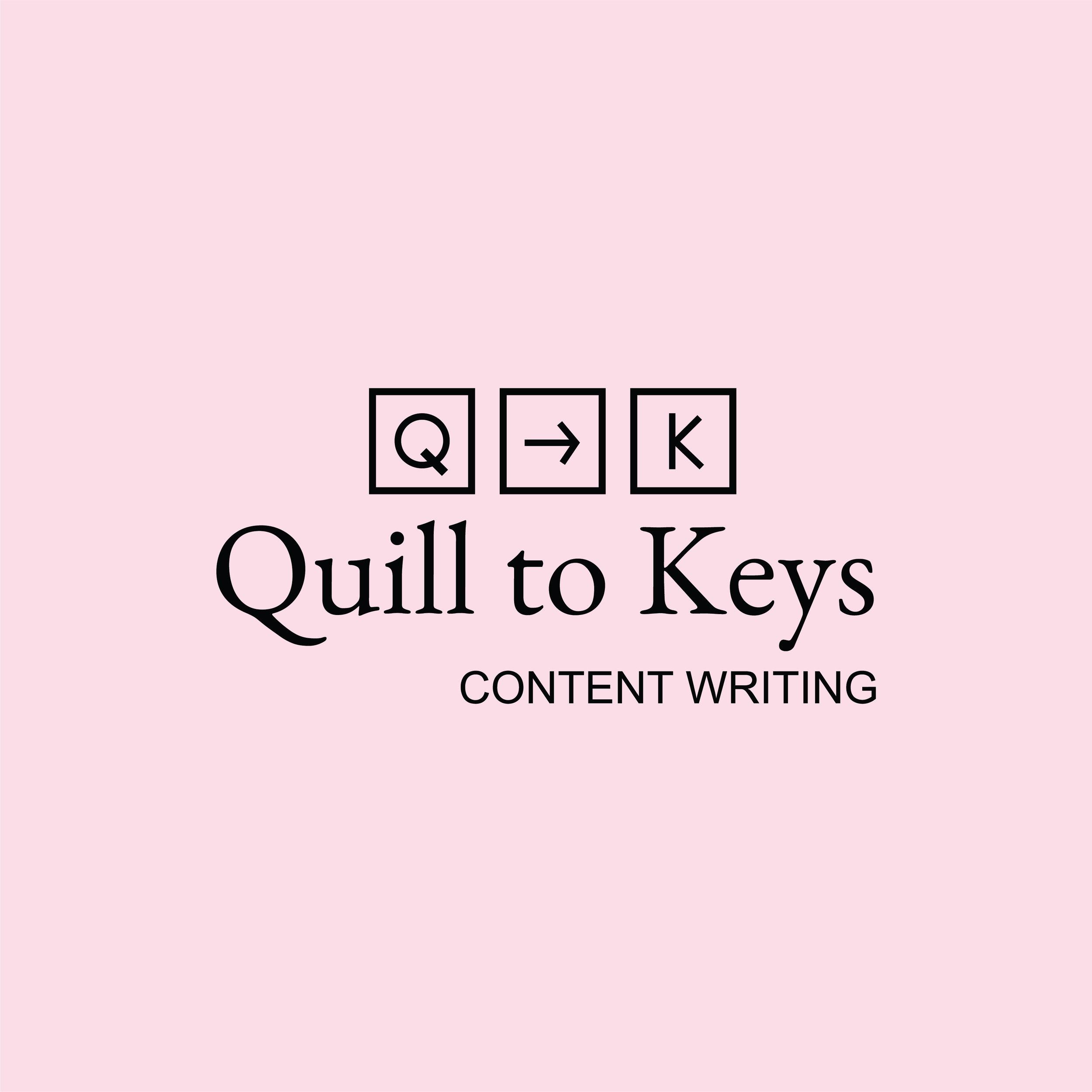 QuilltoKeys Logo Design