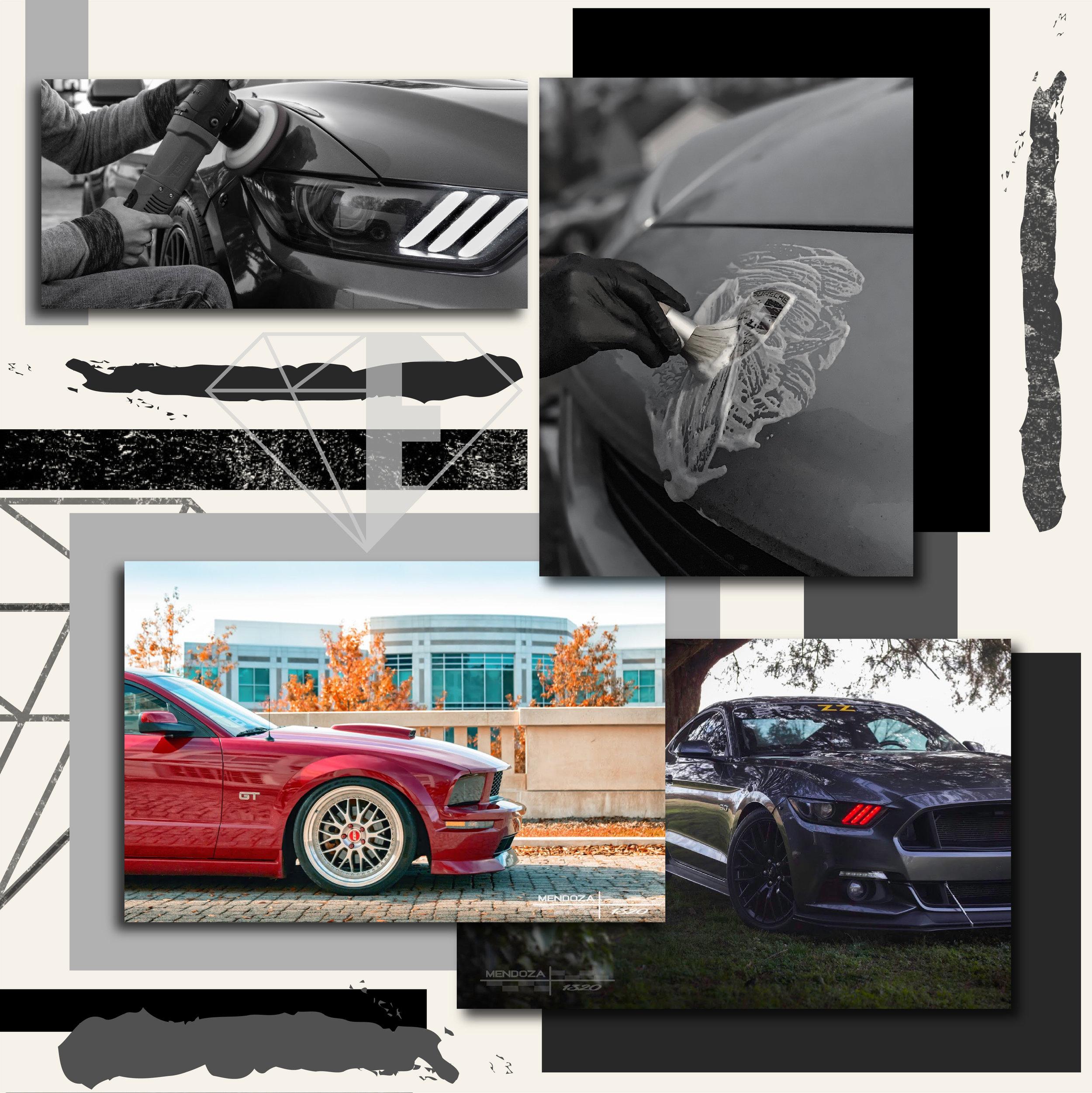 Elite Auto Detailing Mood Board