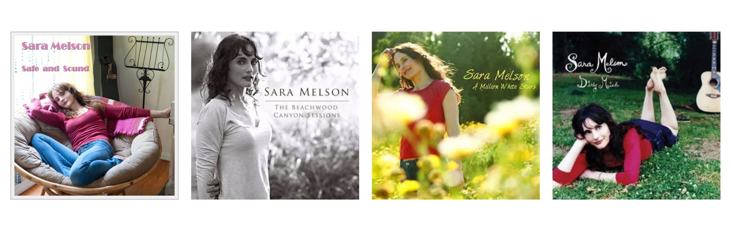 Sara Melson Website Design by Kenzi Green Design