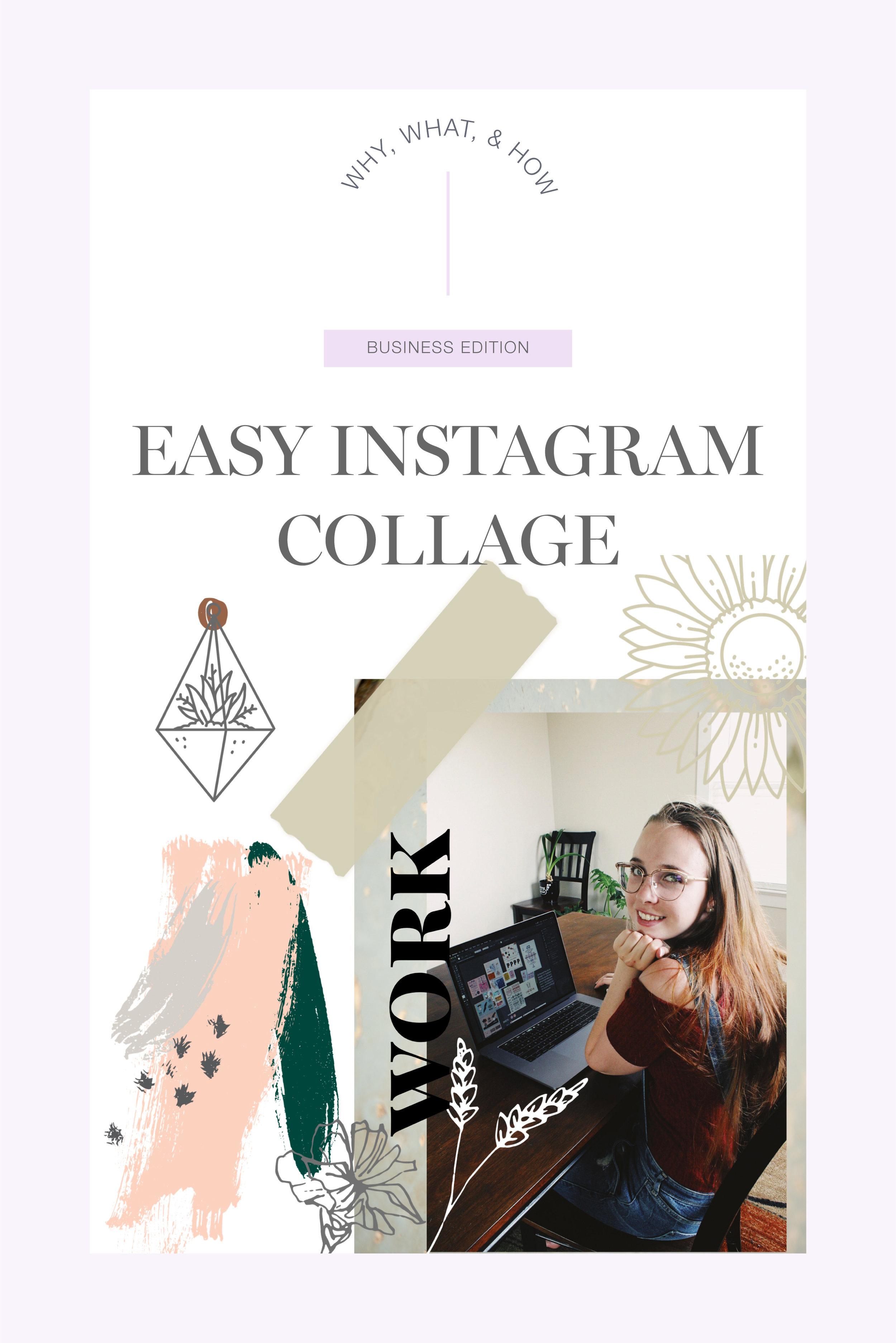 Easy Instagram Collage Instagram Trends 2019