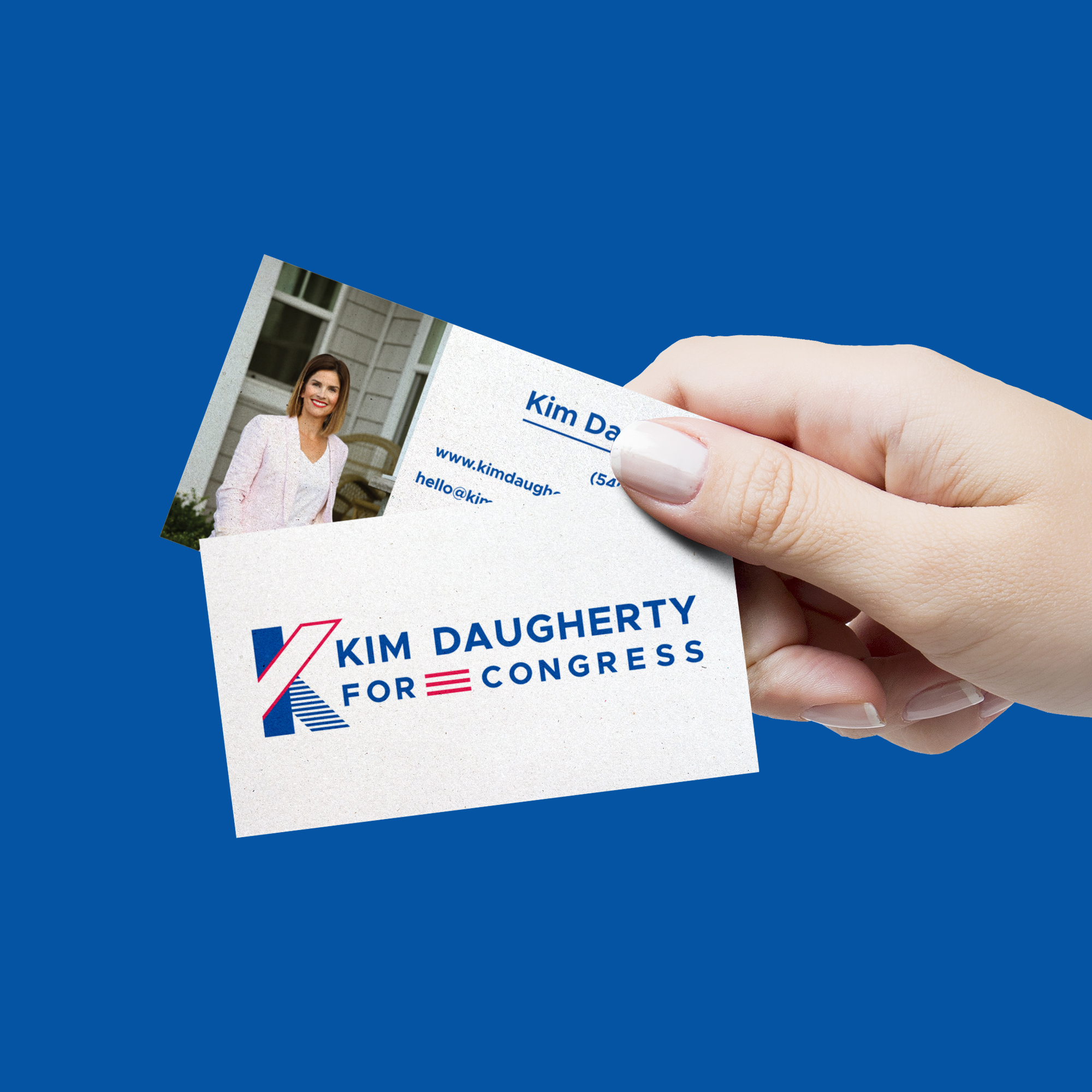 Kim Daugherty Business Cards #businesscards #businesscarddesign