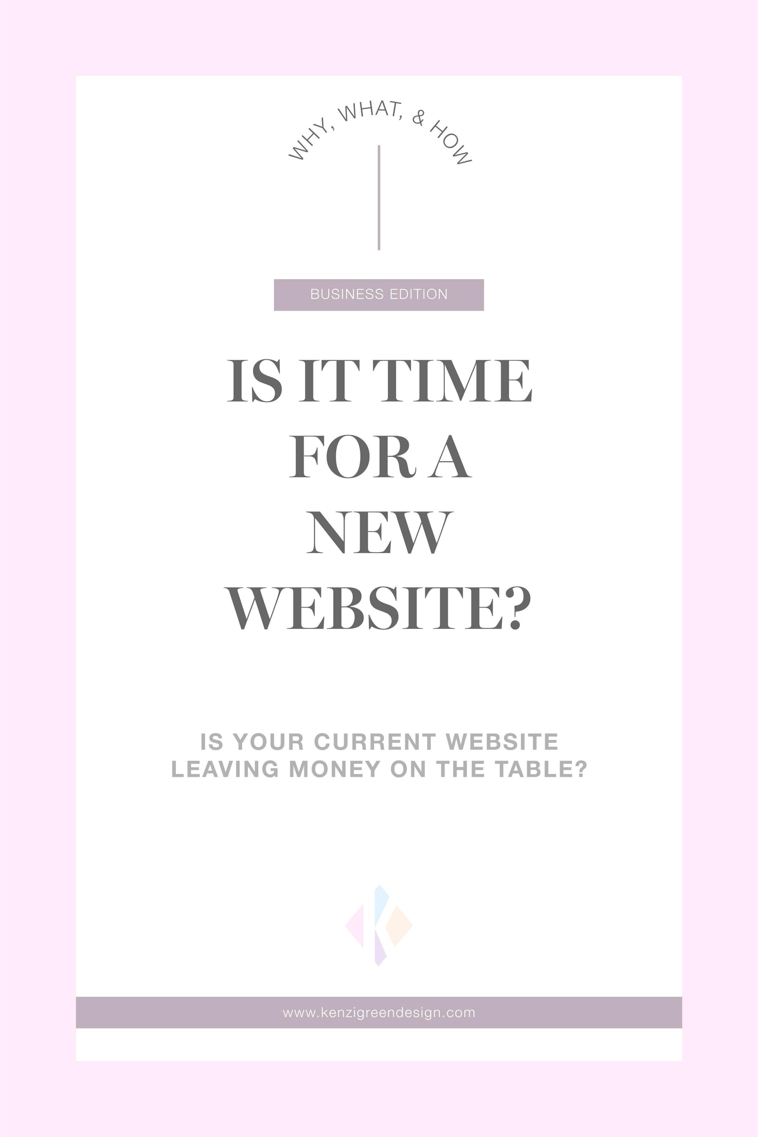 Is It Time For A New Website? #businesstips #websitedesign #webdesign