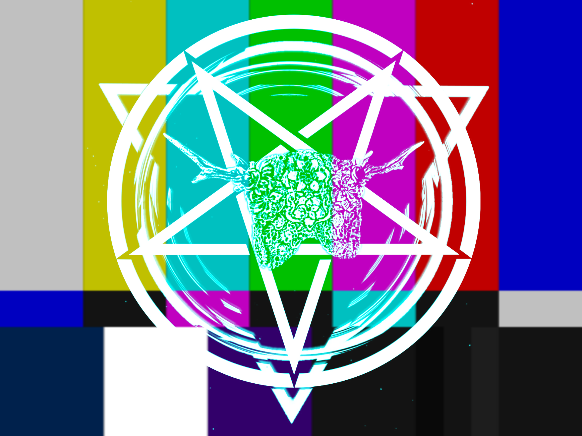Logo colorbars pentagram.png