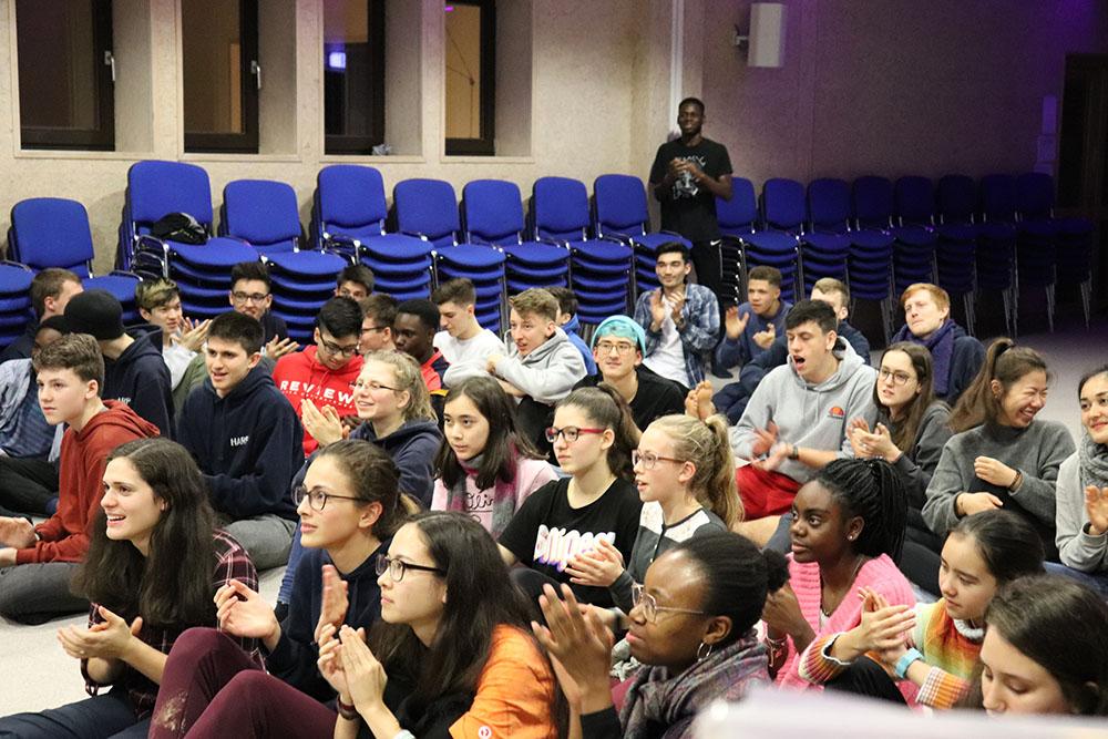 The German HARP Winter WS audience