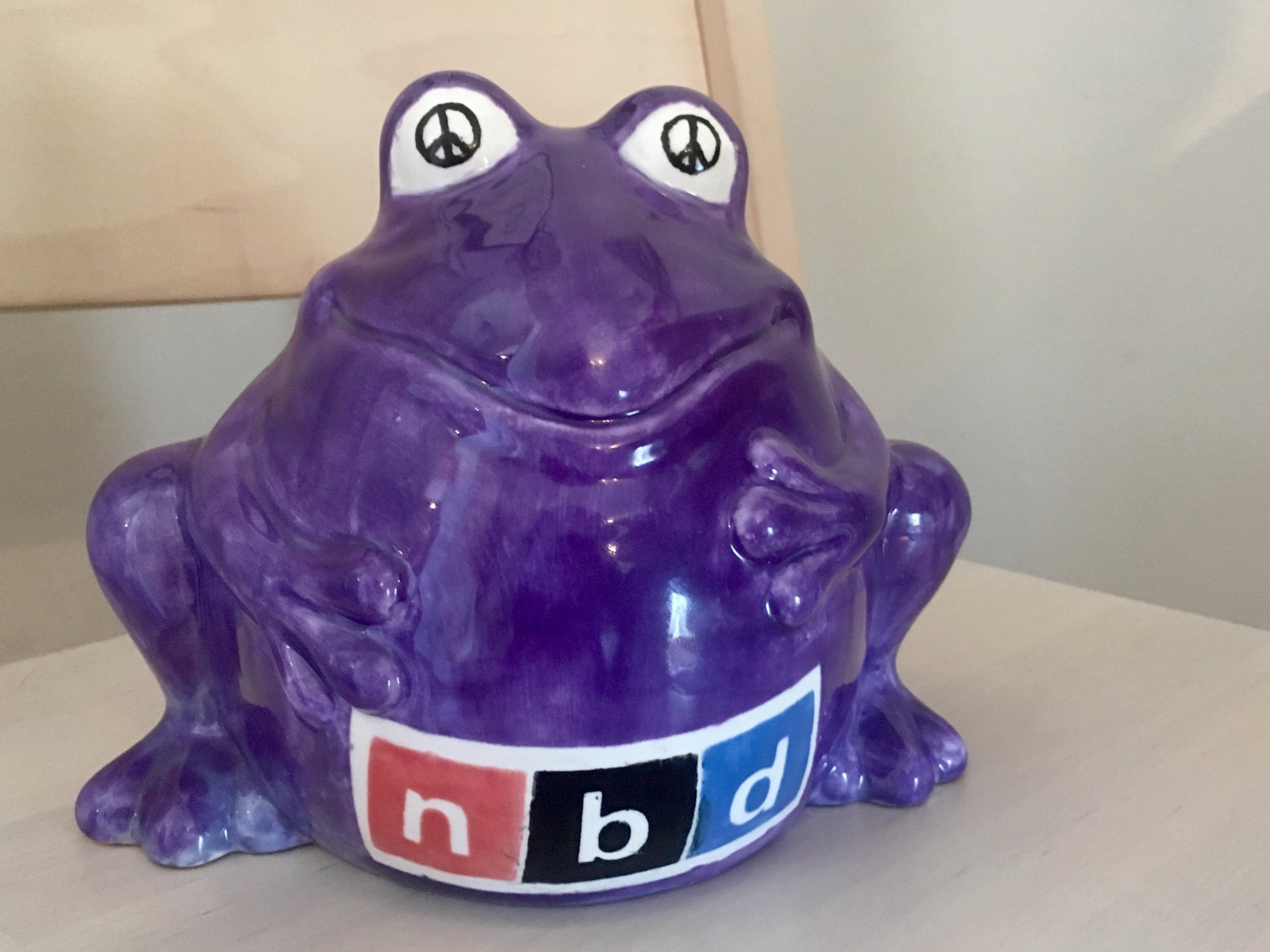 THANK YOU - Not only will your donations support the creation of Craigslist Curio, but you'll also be providing a hungry froggy bank with a well deserved meal.