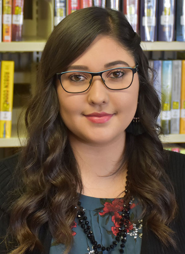 Anahi Gomez- Library Director