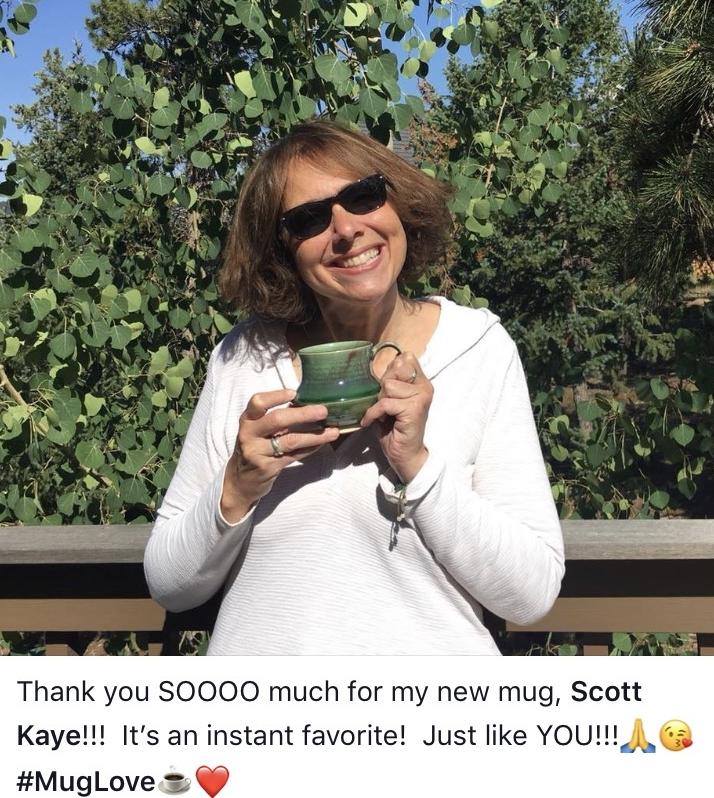 Jules gets a new mug in Denver
