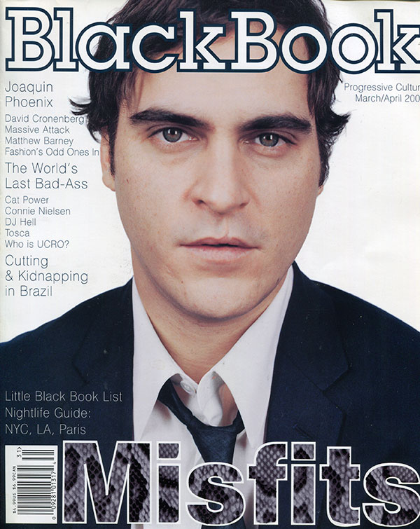 Joaquin Phoenix - Black Book Magazine