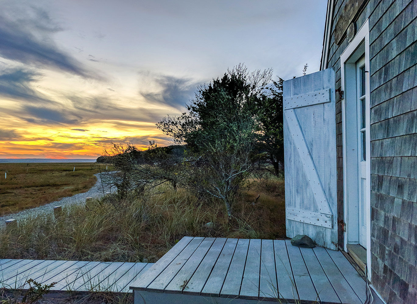 Sandy Neck Halfway House    on the Great Marsh Trail