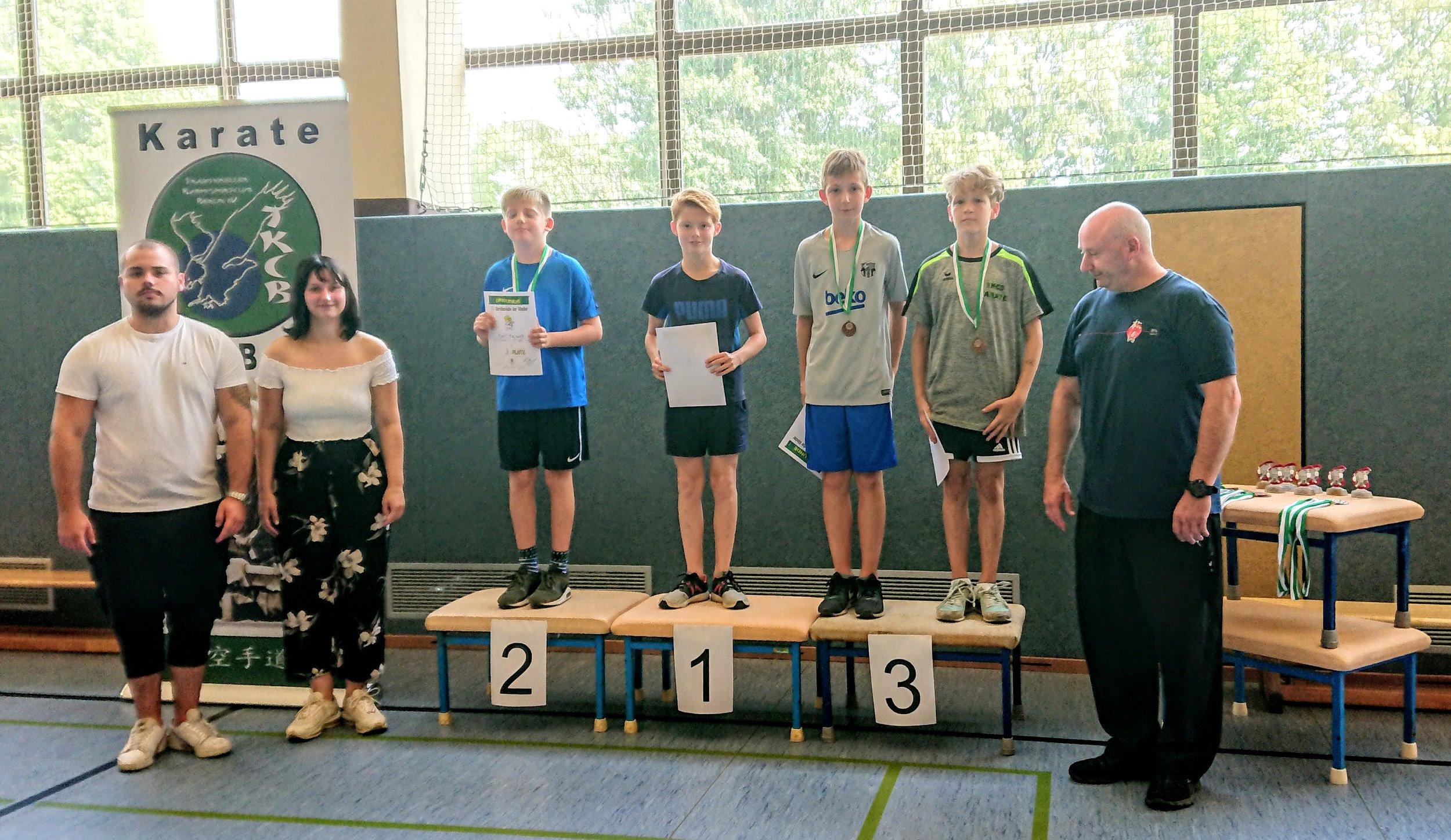 Siegerehrung mit den Gewinnern; Quelle: TKCB e.V.