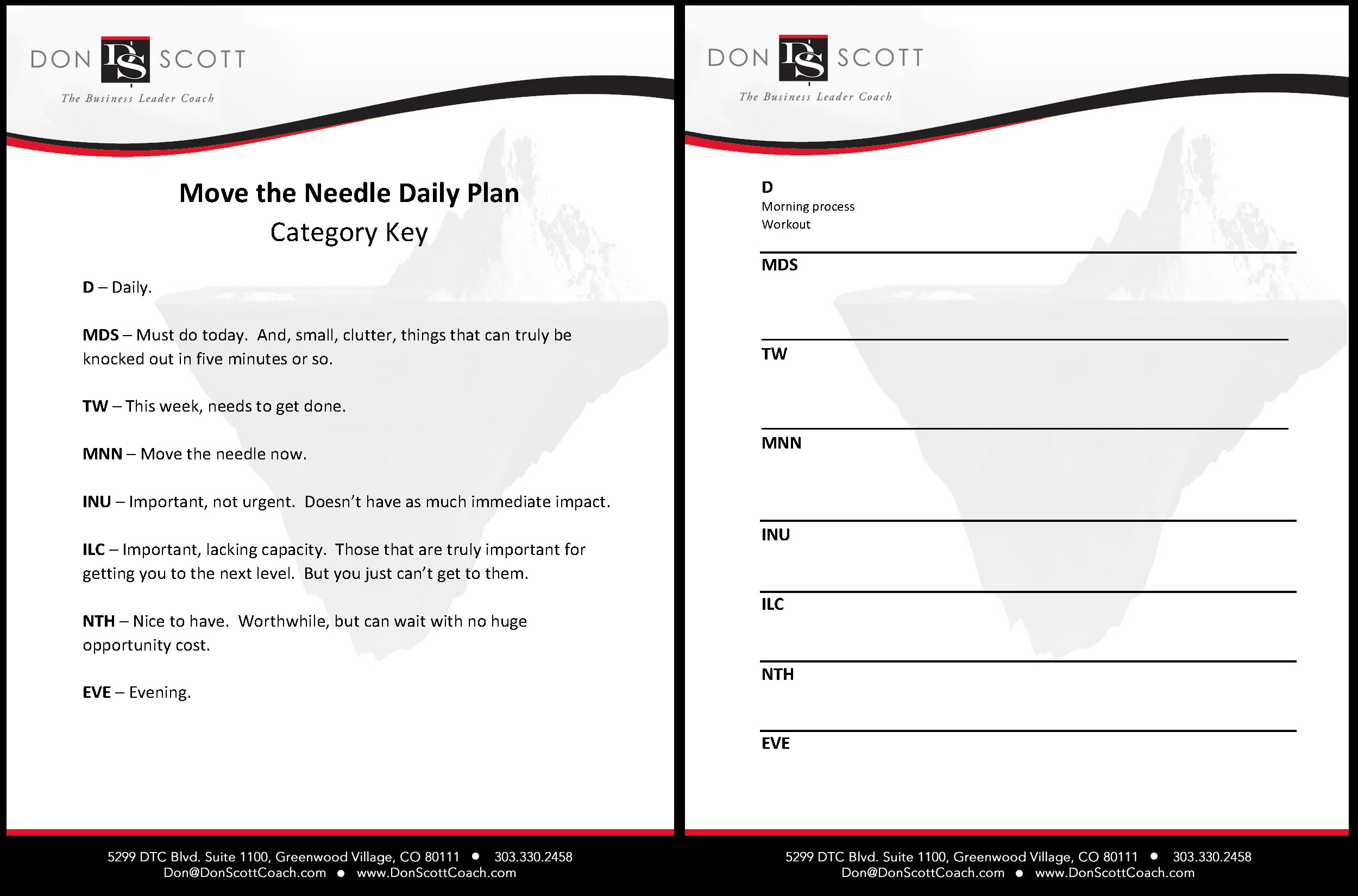 "Download "" Move The Needle Daily Plan "" (PDF)      Download "" Move The Needle Daily Plan "" (Word)"