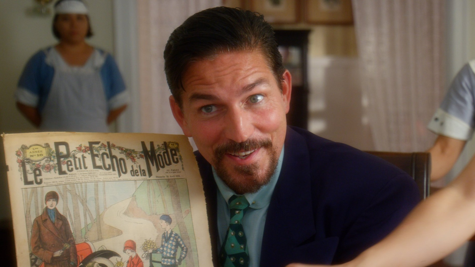 Jim Caviezel as Reyes in RUNNING FOR GRACE