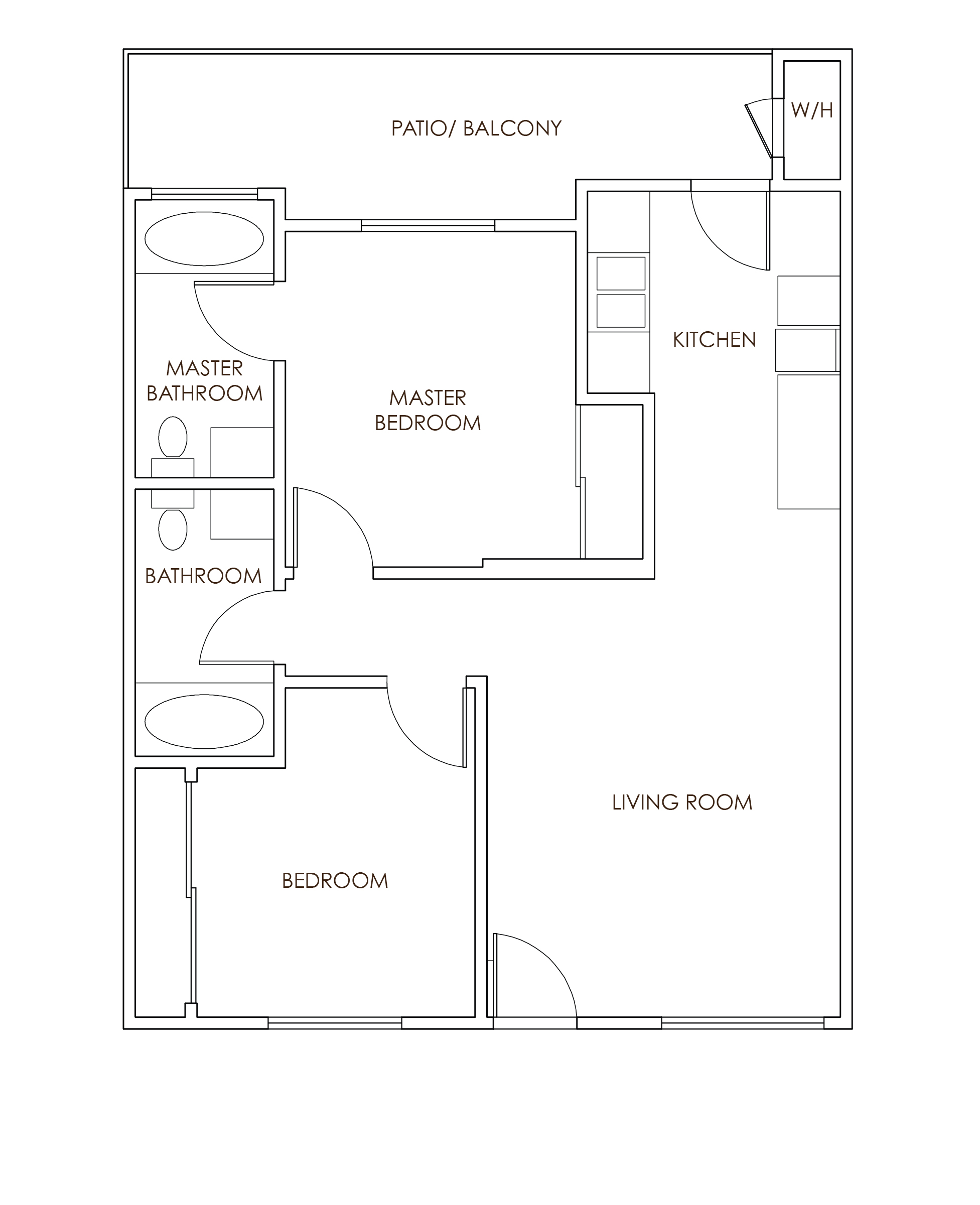 SeaPointe Floorplans 2x2