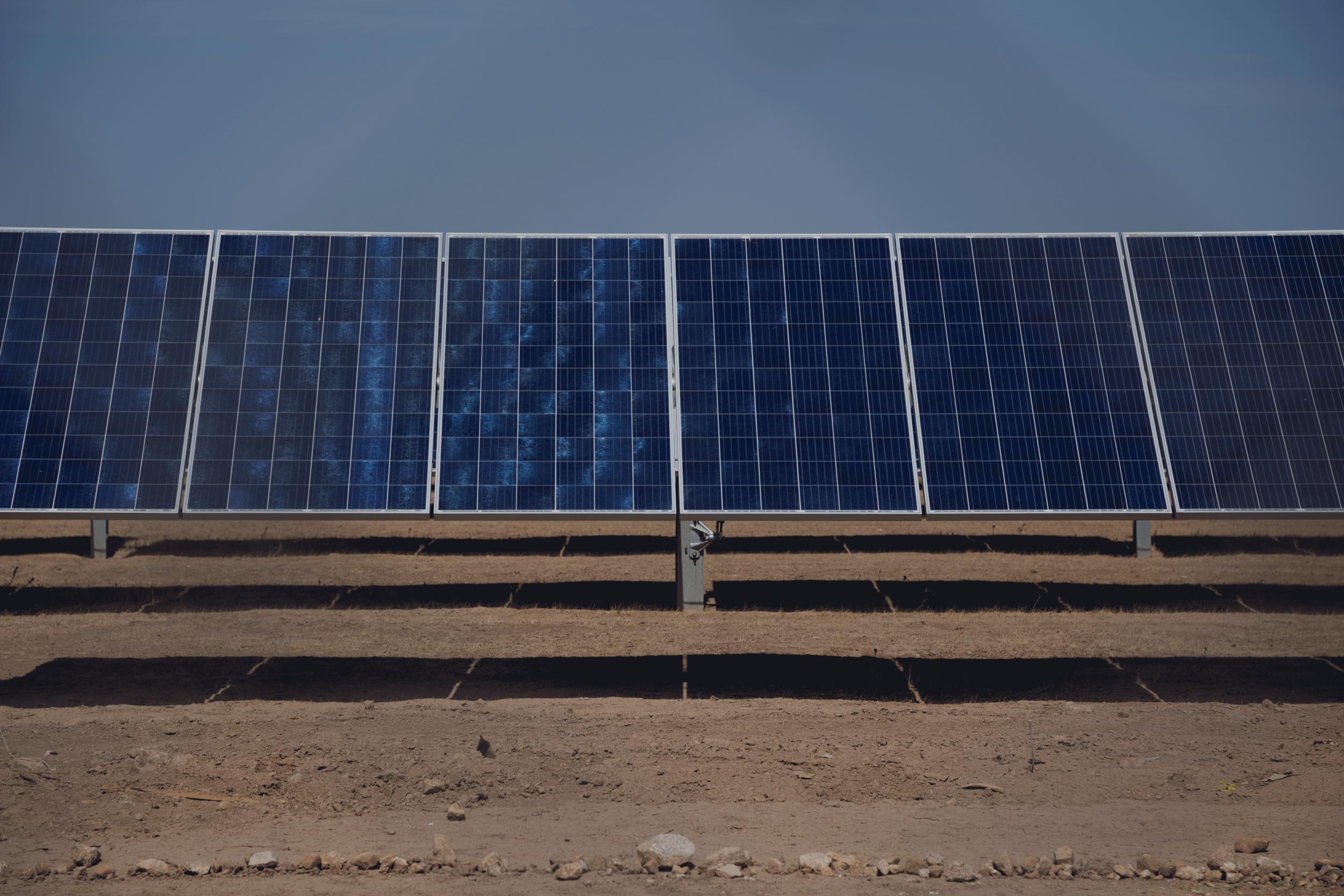 La Secretaría de Energía, inauguró el parque fotovoltaico. La Orejana - Gobierno de México2019