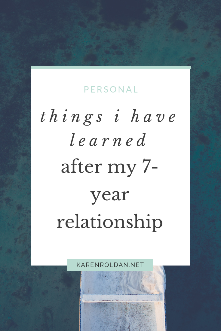 7 Things I've Learned From My 7-year Relationship 1