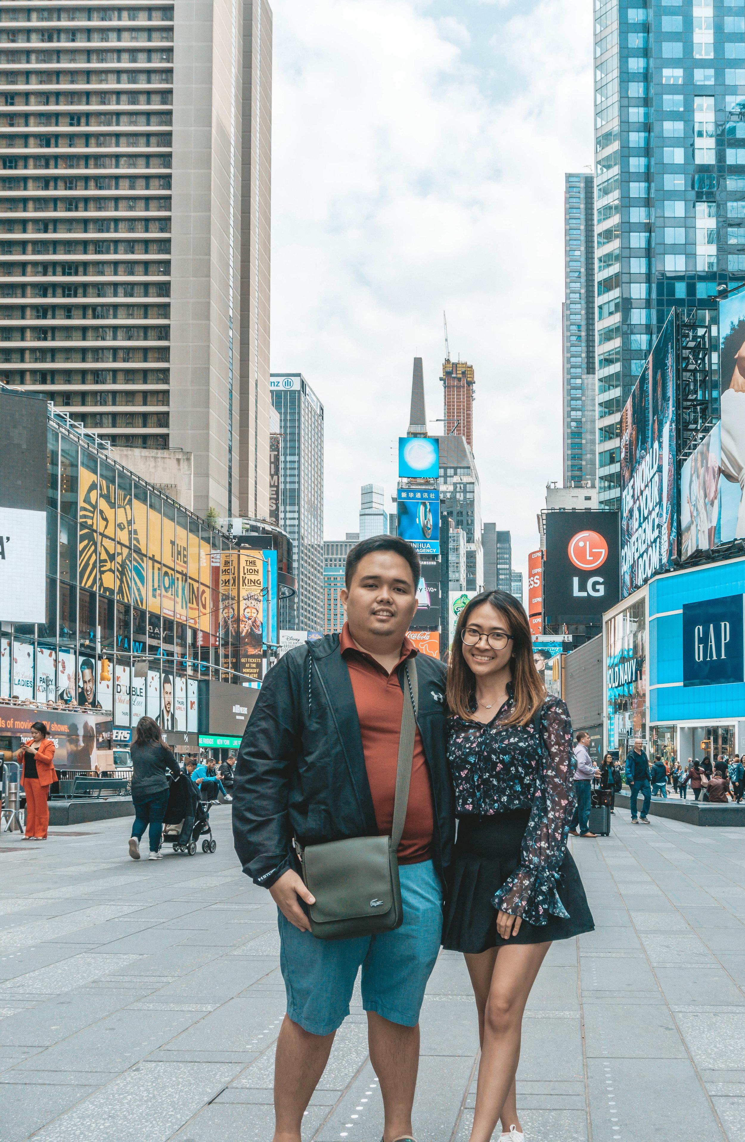 Karen and Miguel in New York City