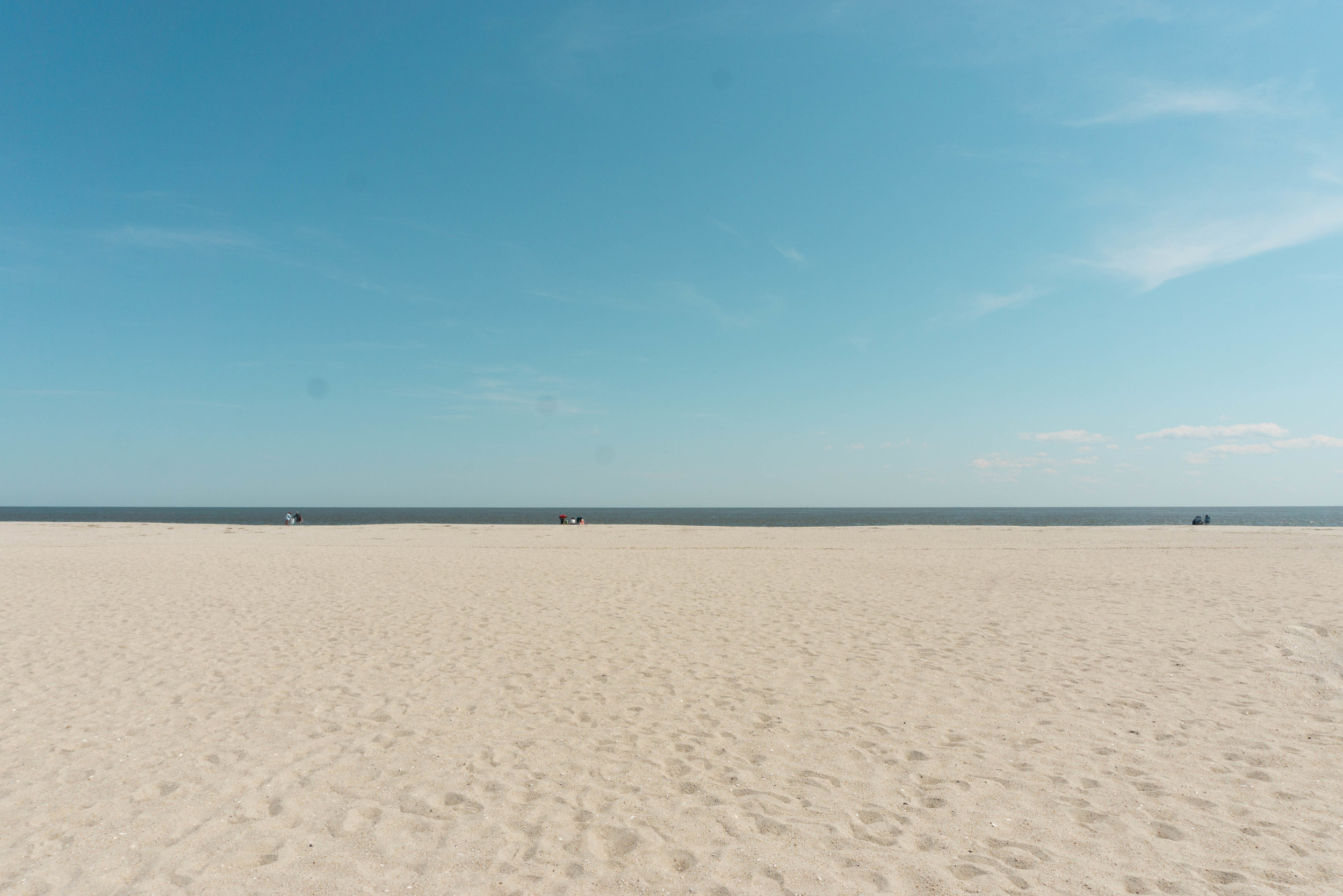 Beach in Cape May