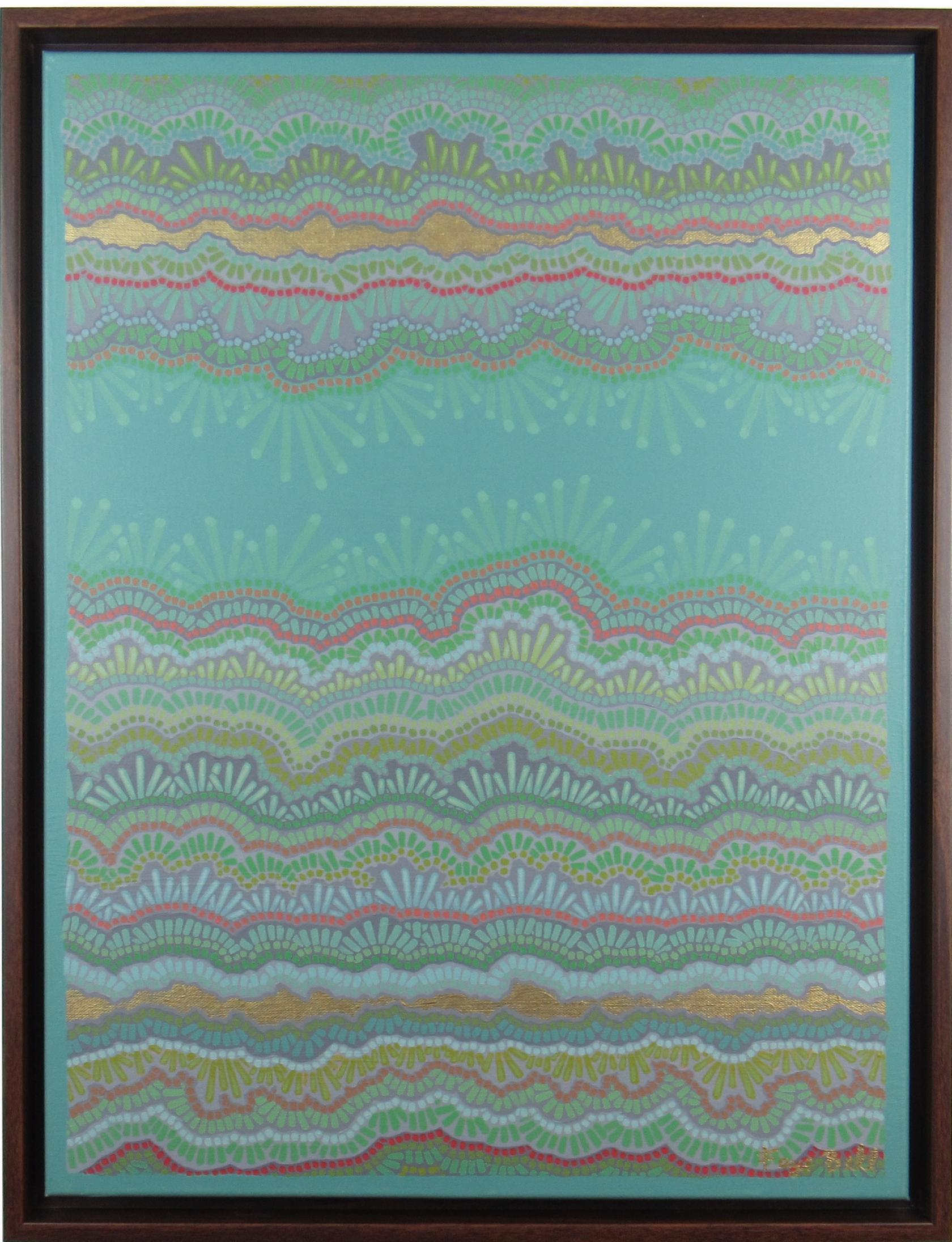 Deep Sea , 2016, 16x20, acrylic on canvas. sold.