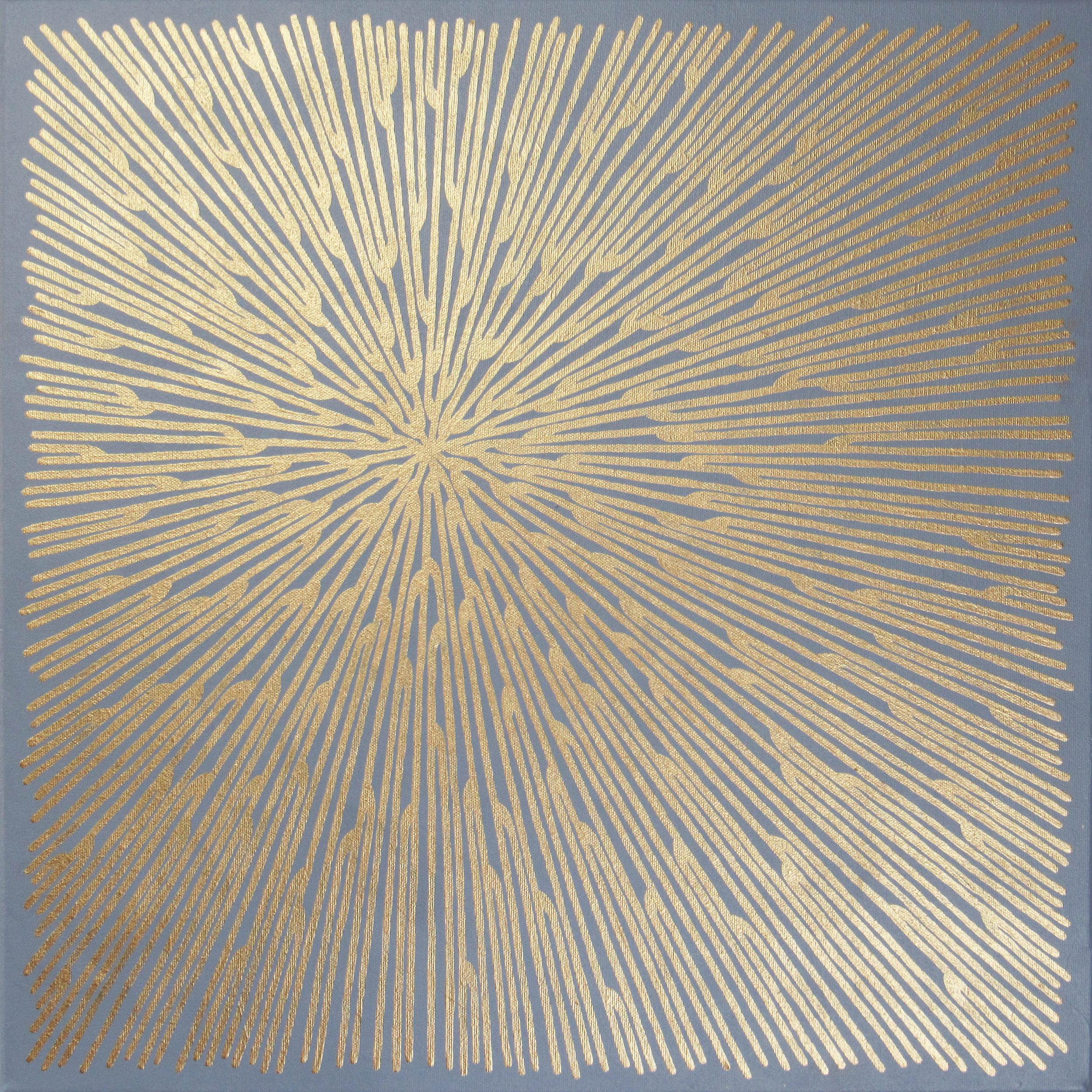 Seafan 39 , 2019, 20x20, acrylic on canvas. available through  Atlanta Artist Collective .
