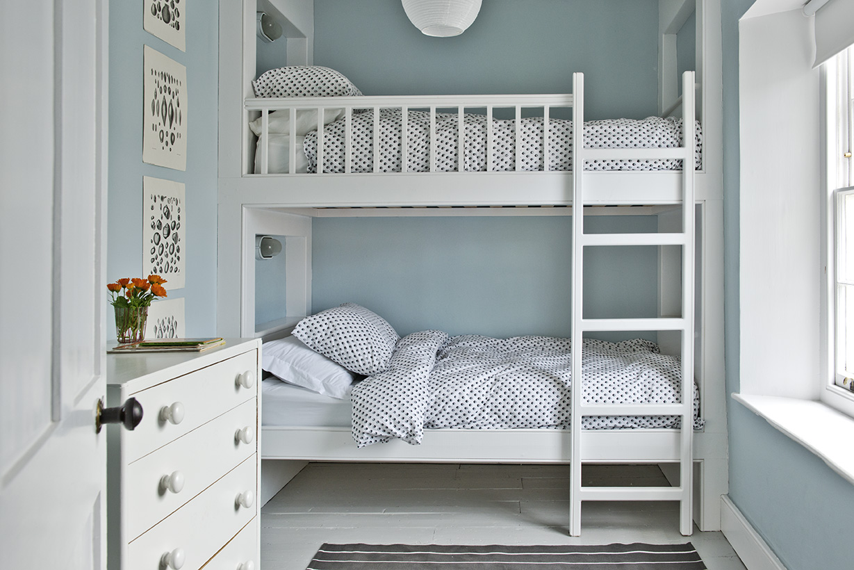 Bunk Room - The Bunk Room has full sized single beds - perfect for younger guests! It is opposite the Family Bathroom.