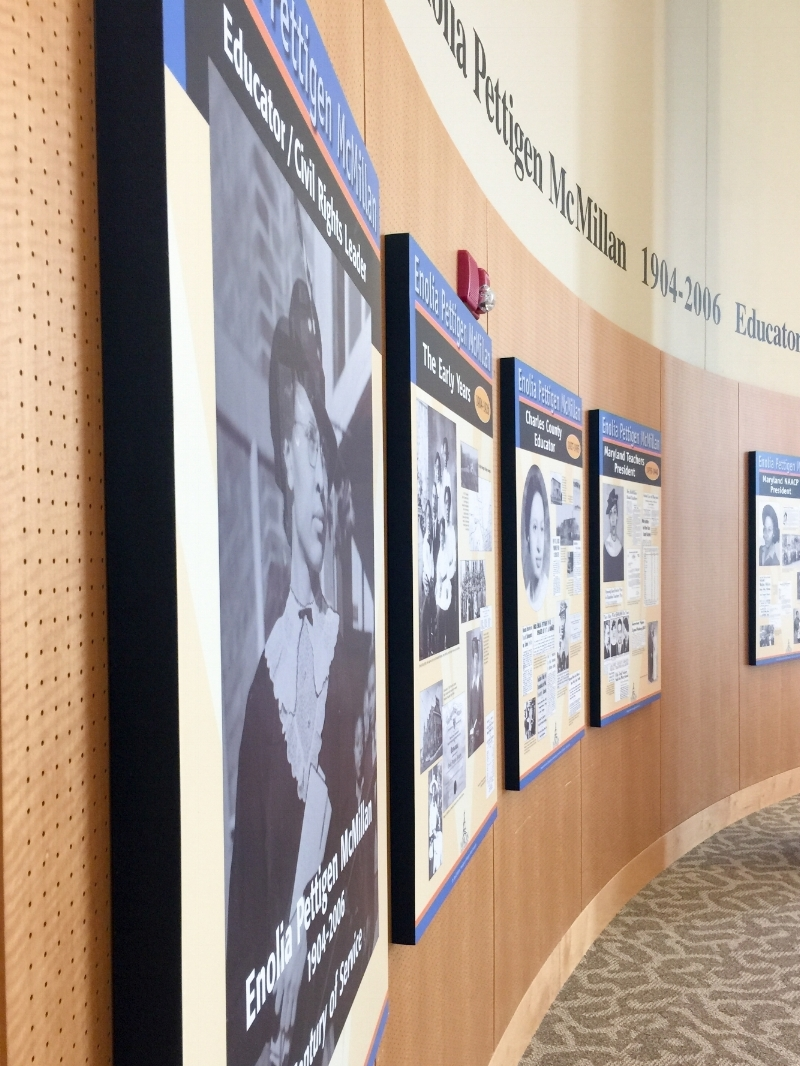 Morgan State University - Enolia Pettigen McMillan Exhibit