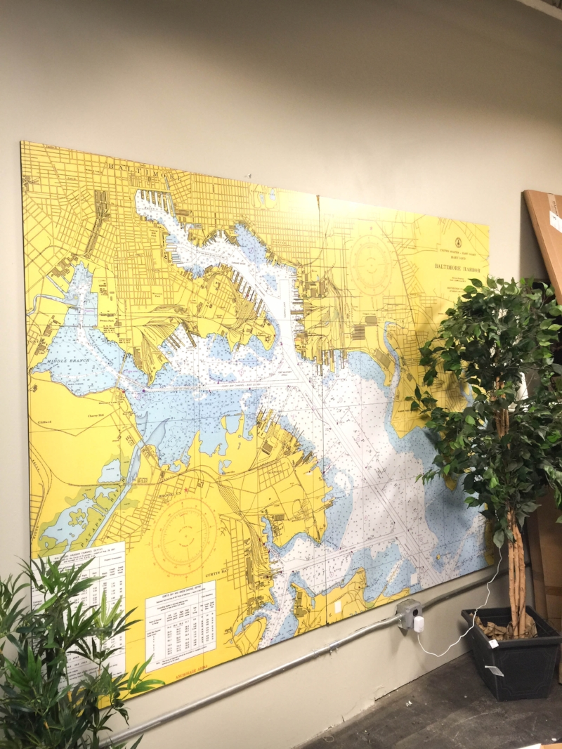 In-shop wall graphics