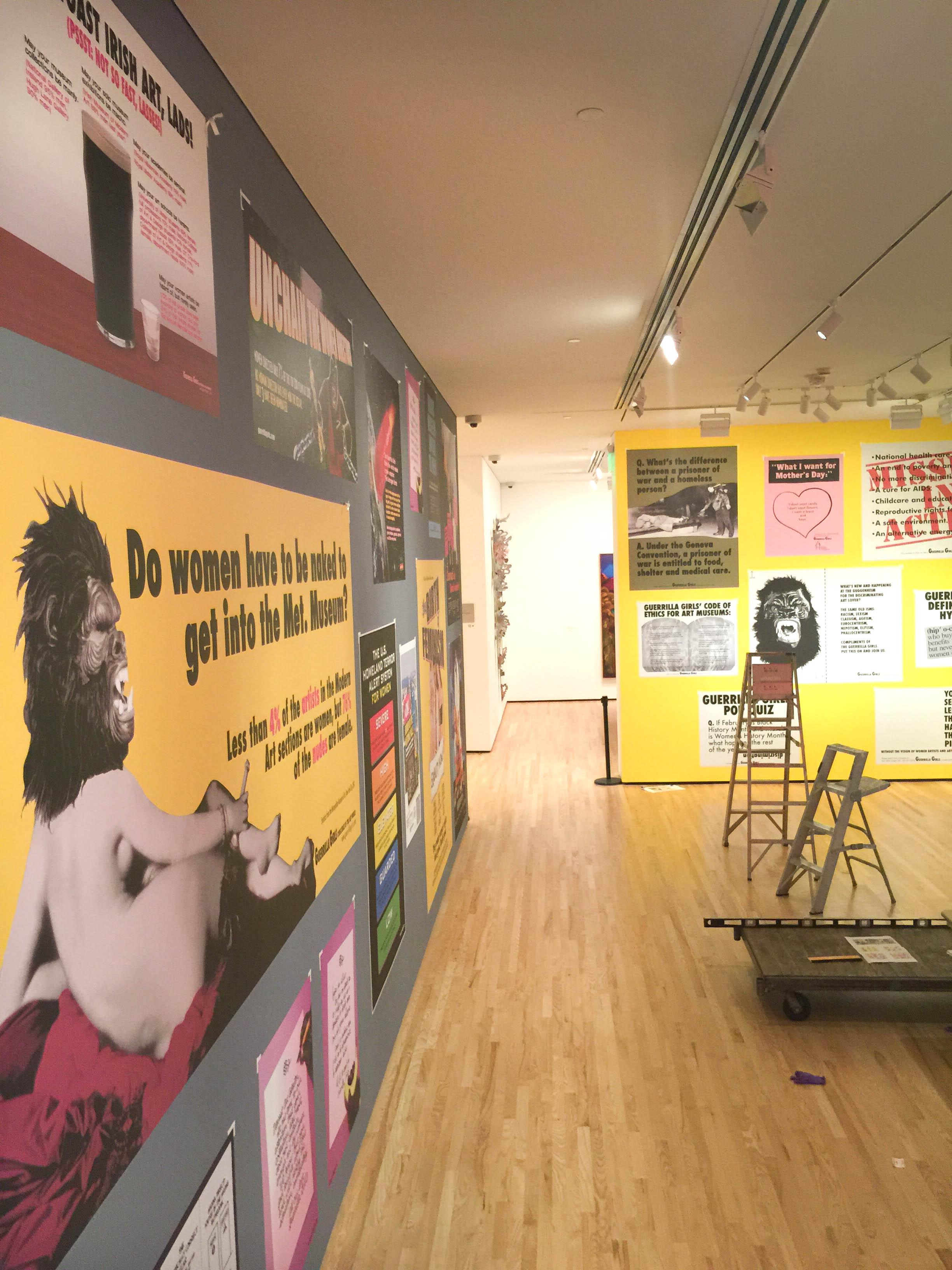 Baltimore Museum of Art - Guerrilla Girls Exhibit