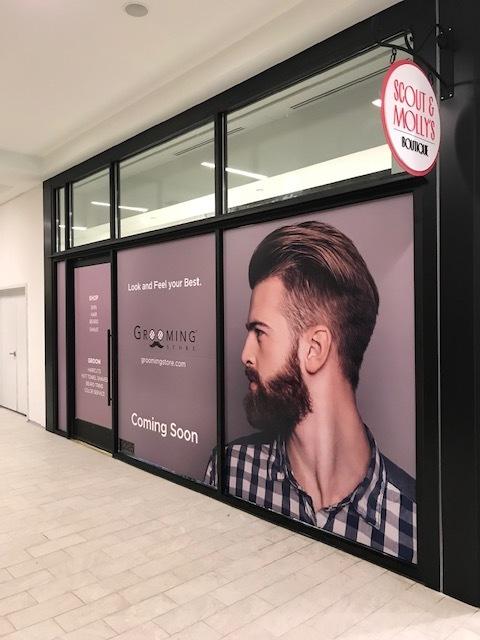 Grooming Store - Glass Adhere