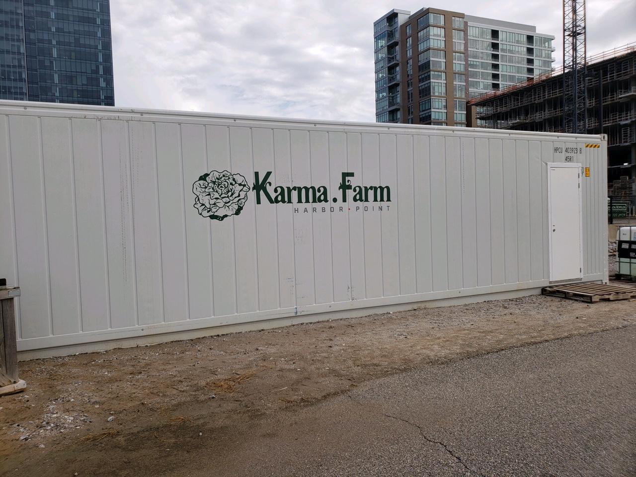 Cut vinyl for Karma Farms