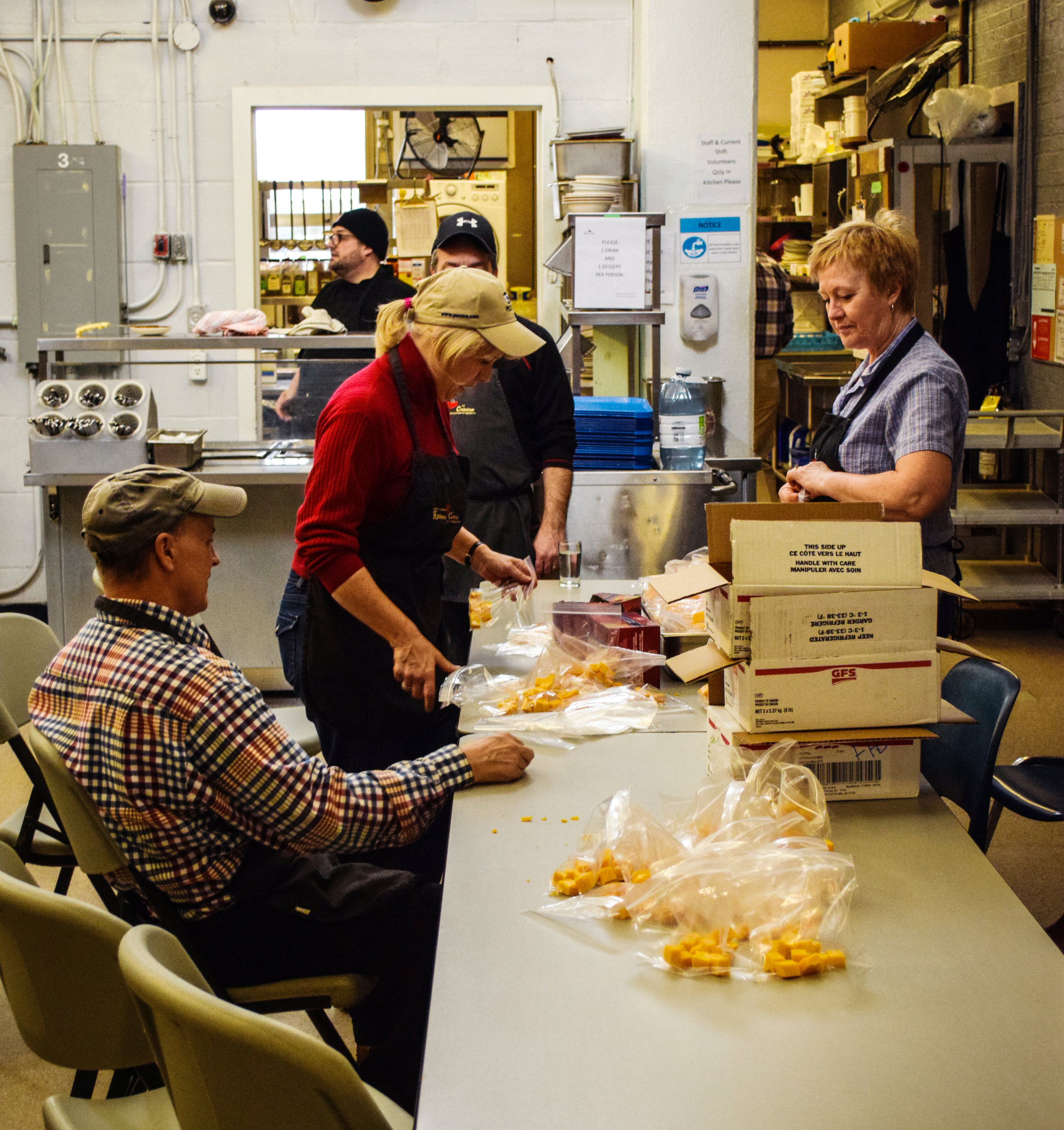 Volunteering with the Fredericton Community Kitchens is an enjoyable and rewarding experience that many volunteers say they will never forget. But for new volunteers, it's completely normal to have about a million questions! -