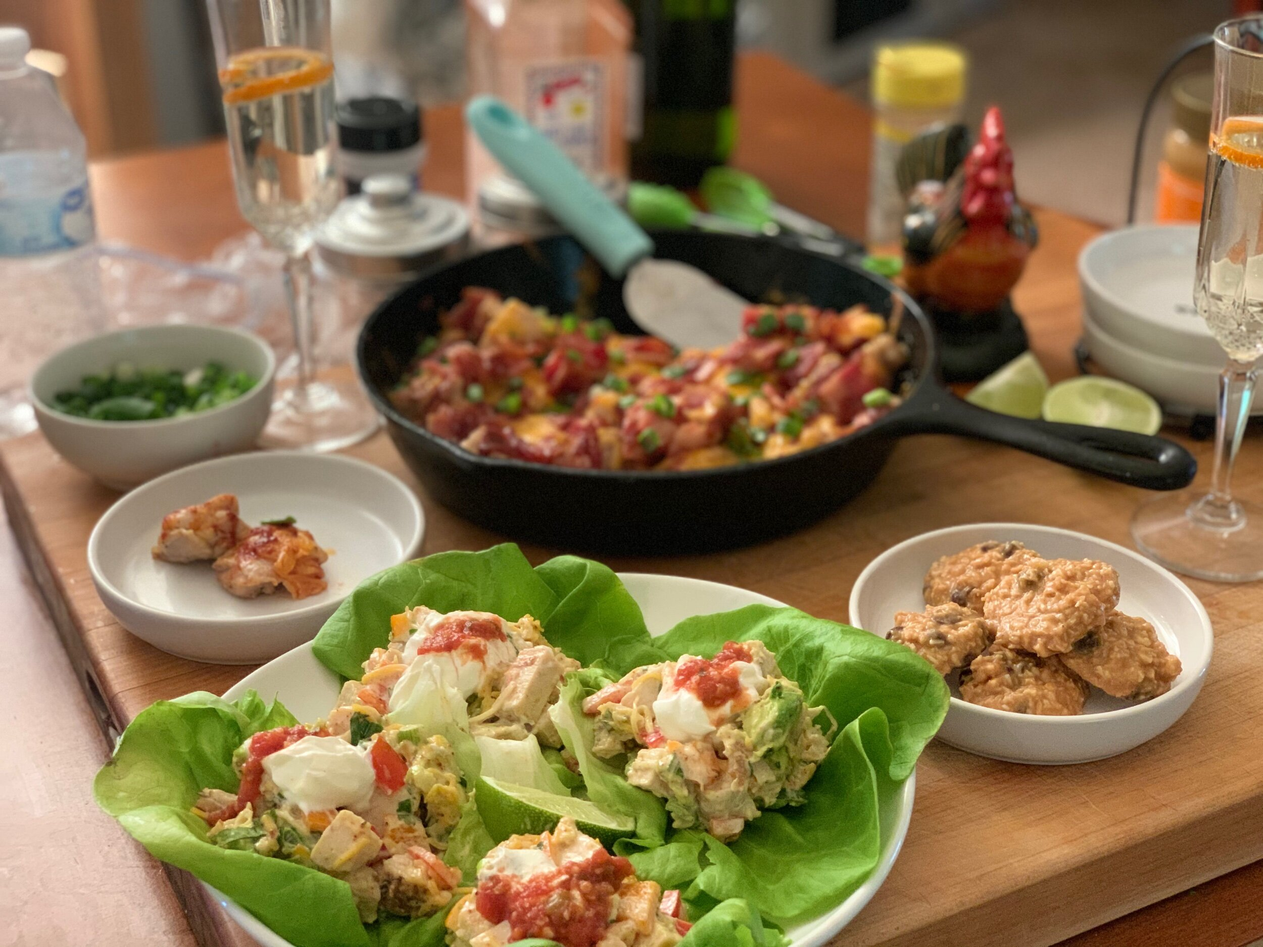 Serve in lettuce cups and enjoy!