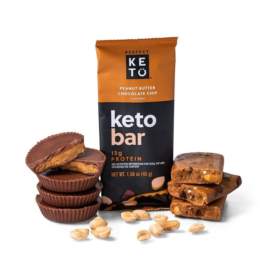 A decadent, keto-friendly snack bar with only 3g of net carbs, and no added sugar, sugar alcohols, additives or fillers.