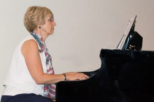Sherry Bennett our gifted pianist and organ player.