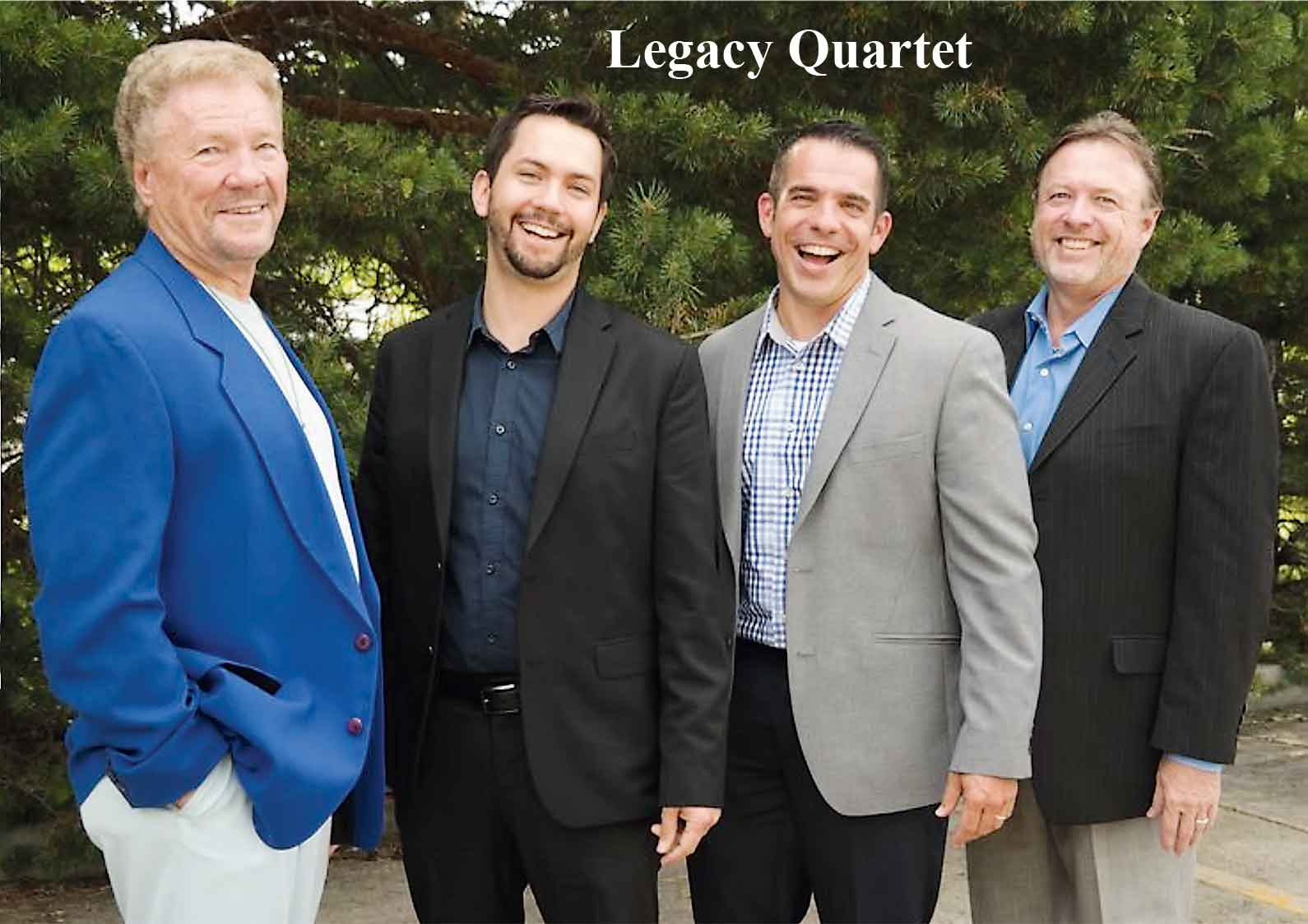 The Legacy Quartet has performed all across America and was featured at the National Day of Prayer in Washington D.C.