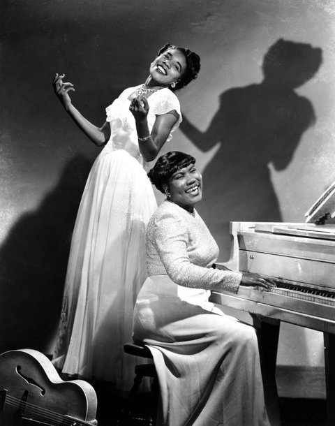 Marie Knight and Sister Rosetta Tharpe