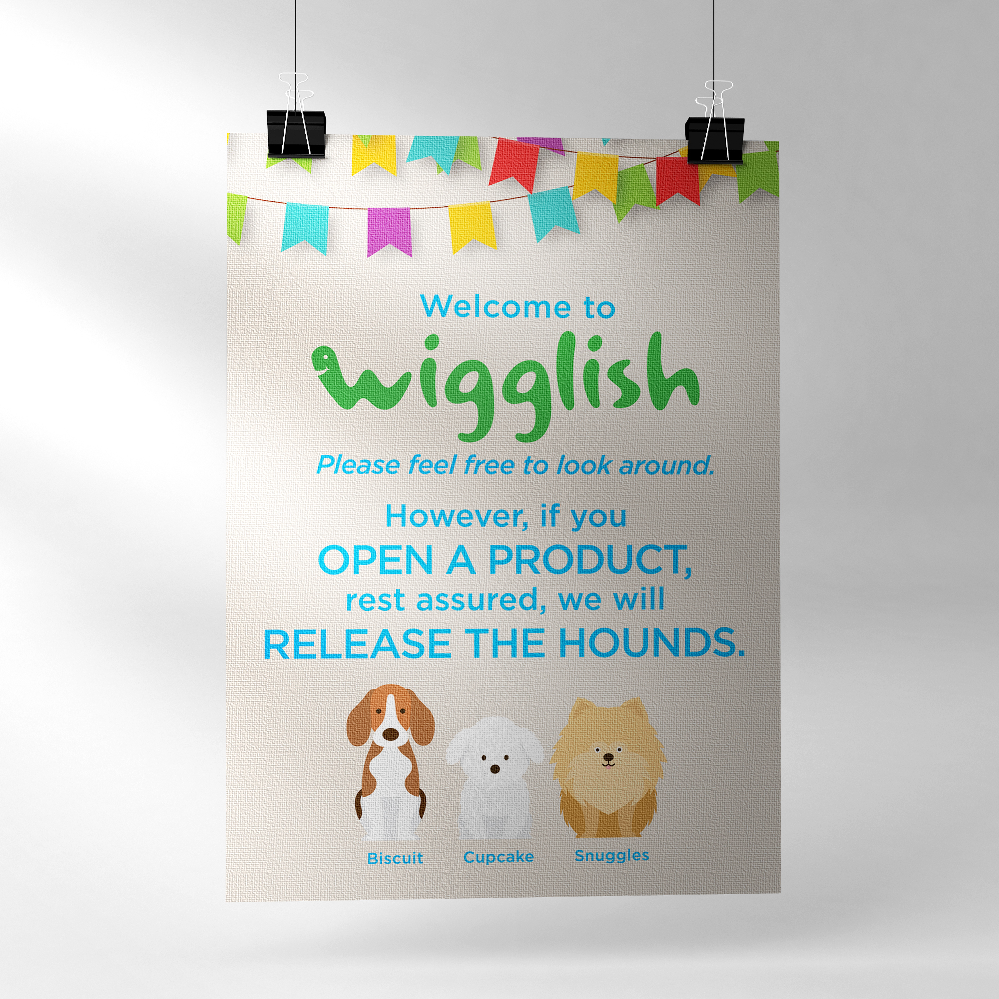 Wigglish Release the hounds single poster mock-up.jpg