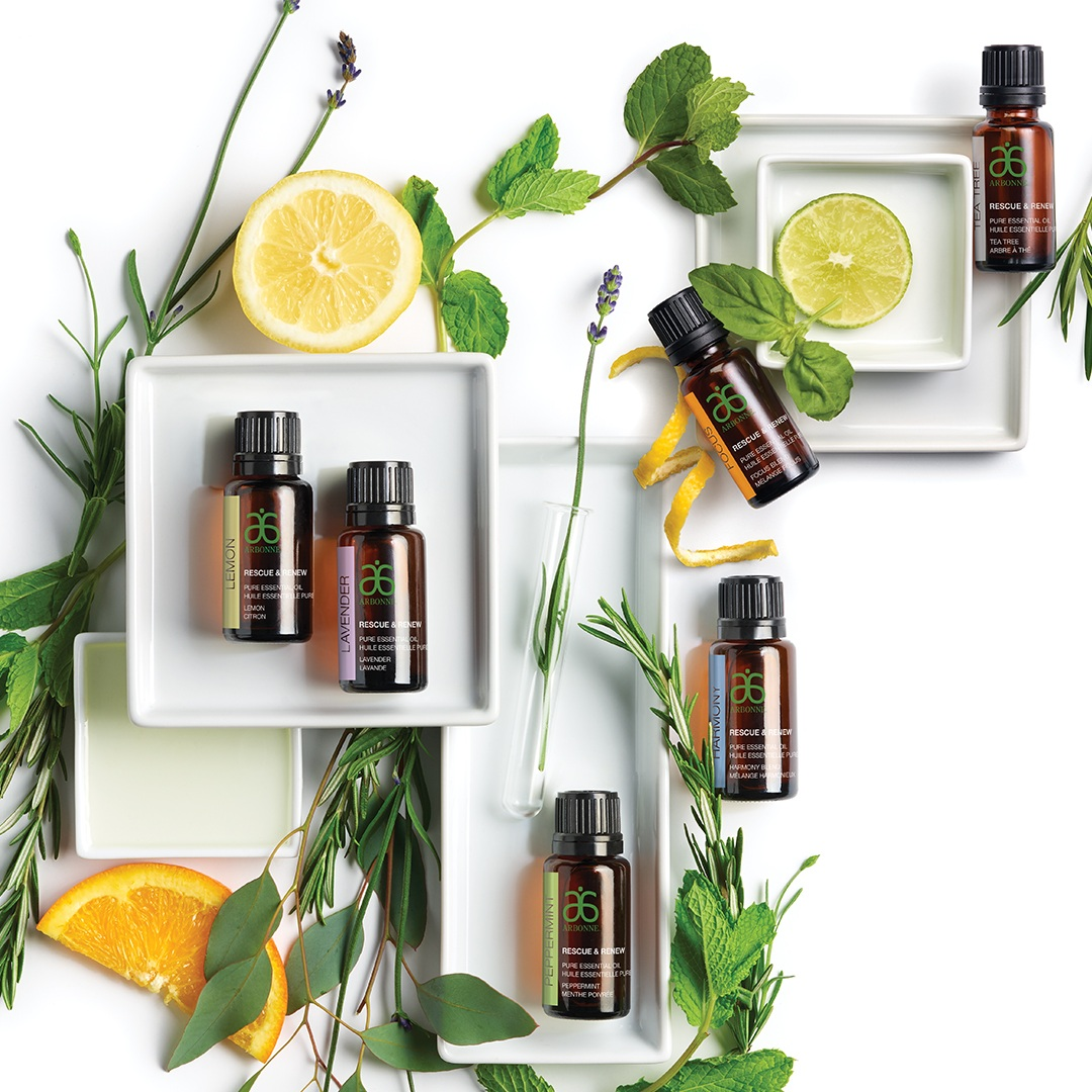 100% PURE ESSENTIAL OILS -