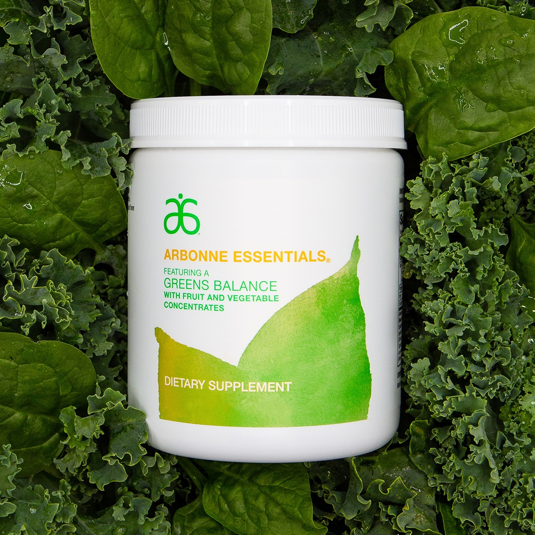 GREENS BALANCE   Getting in your veggies is now easier than ever. With its spectrum of proprietary color blends of whole fruit and vegetable powders, Greens Balance delivers the antioxidants, phytonutrients and fiber you need to have a more balanced, healthier diet every day.