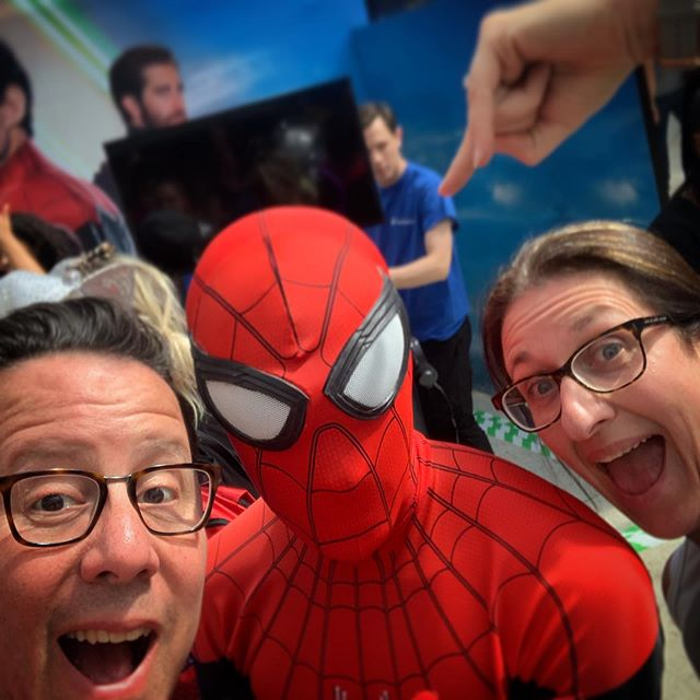 With great power comes great responsibility #Spider-Man #spidermanfarfromhome #amazontreasuretruck