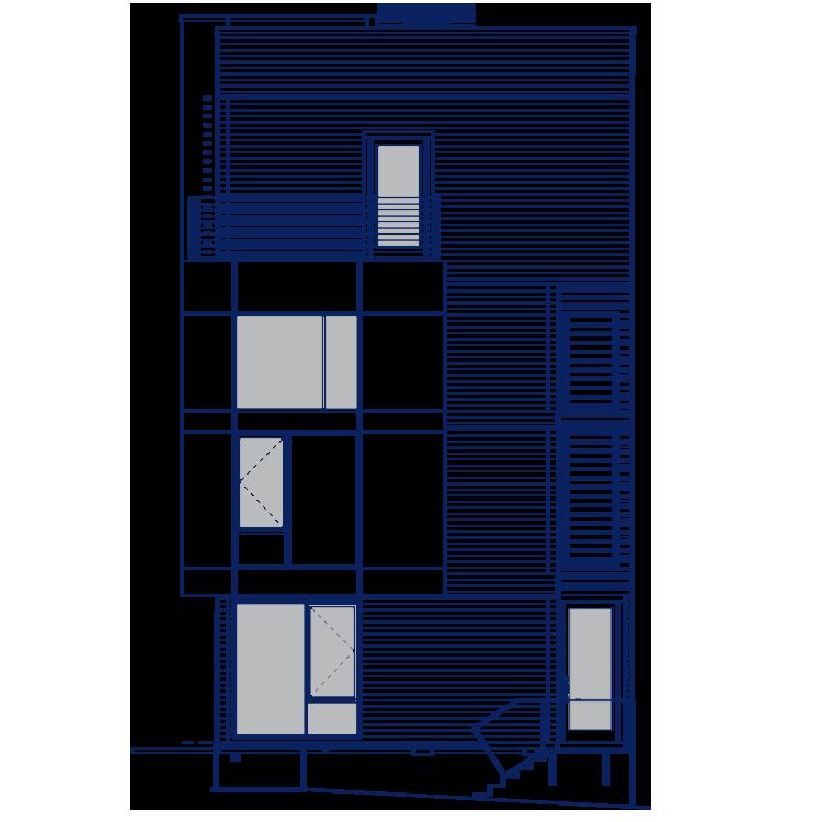 CORTLAND - 2 BEDROOM2 FULL + 1 HALF BATHOR 3 FULL + 1 HALF BATH2016 SQUARE FEET