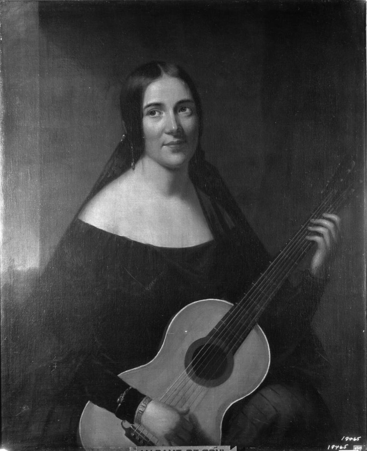 Maria Dolores Esturias y Navarres aka Madame De Goni [A.G. Powers, via Frick Collection]