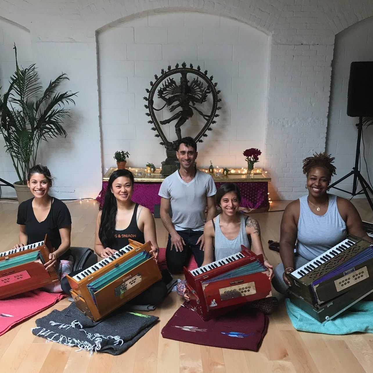 seth lieberman harmonium voice yoga workshop teacher training
