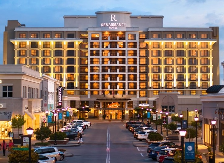 Renaissance Hotel - Raleigh, North CarolinaExterior Repairs & Waterproofing
