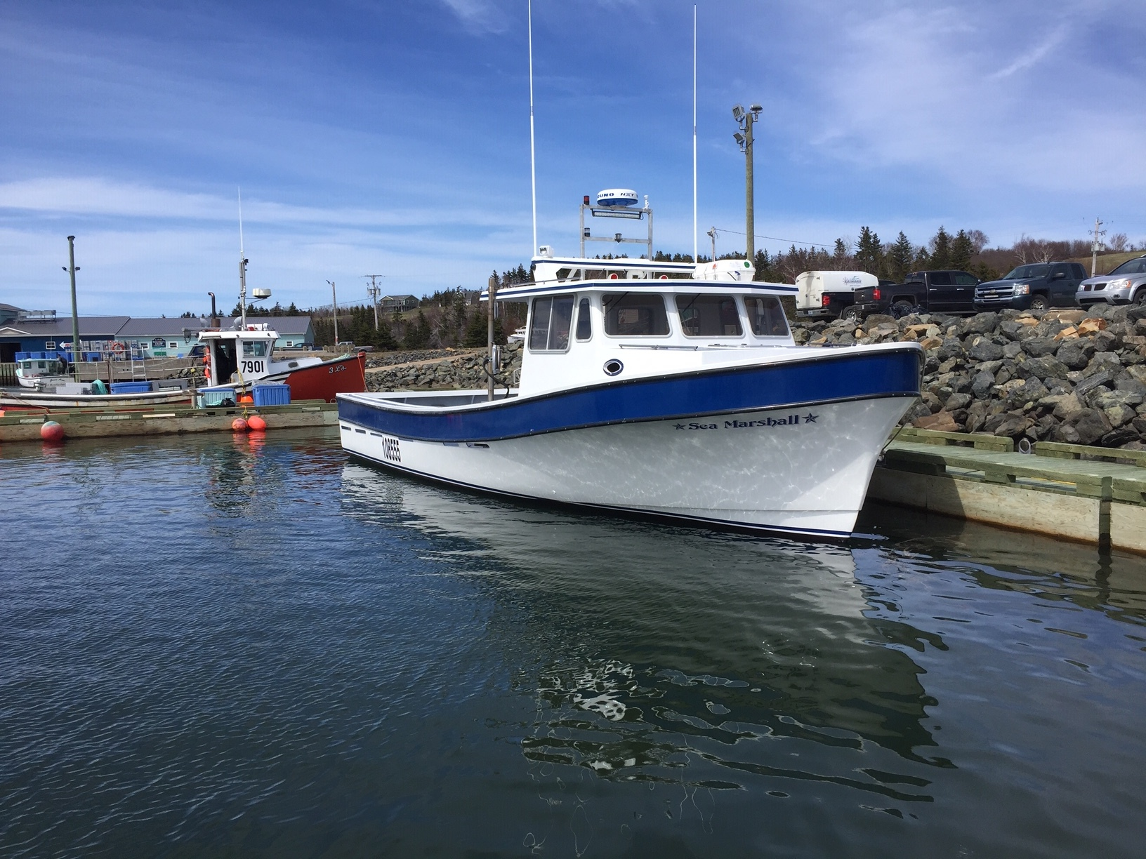 45' Samson Hull - Fishing lobster/crab - Launched May 6, 2019