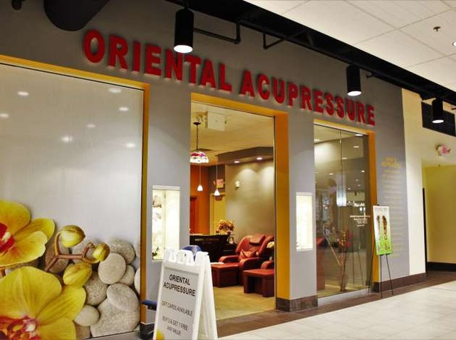 We are located inside Calhoun Square on the second floor! Come in for a relaxing afternoon!